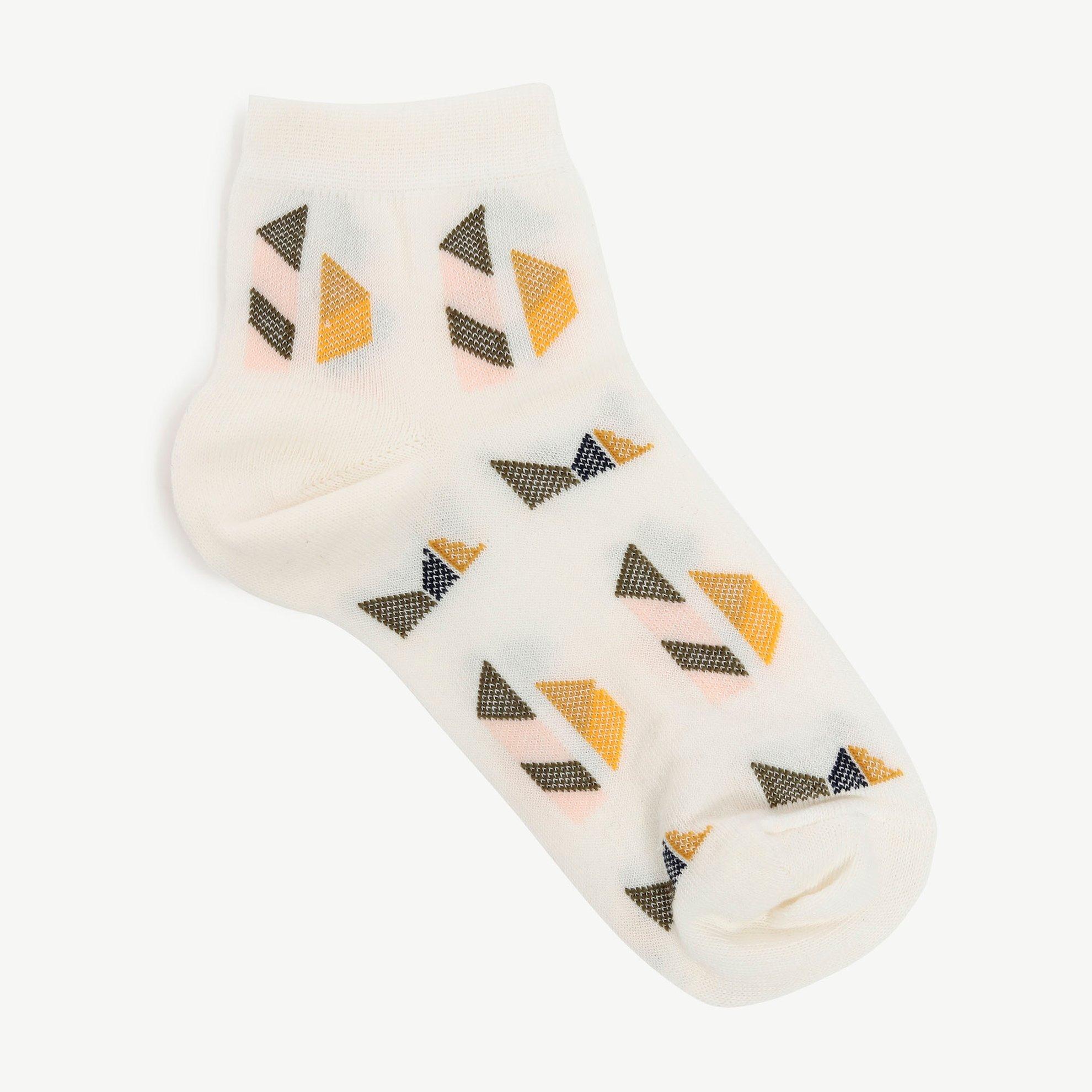 Geometrık Desen Çorap