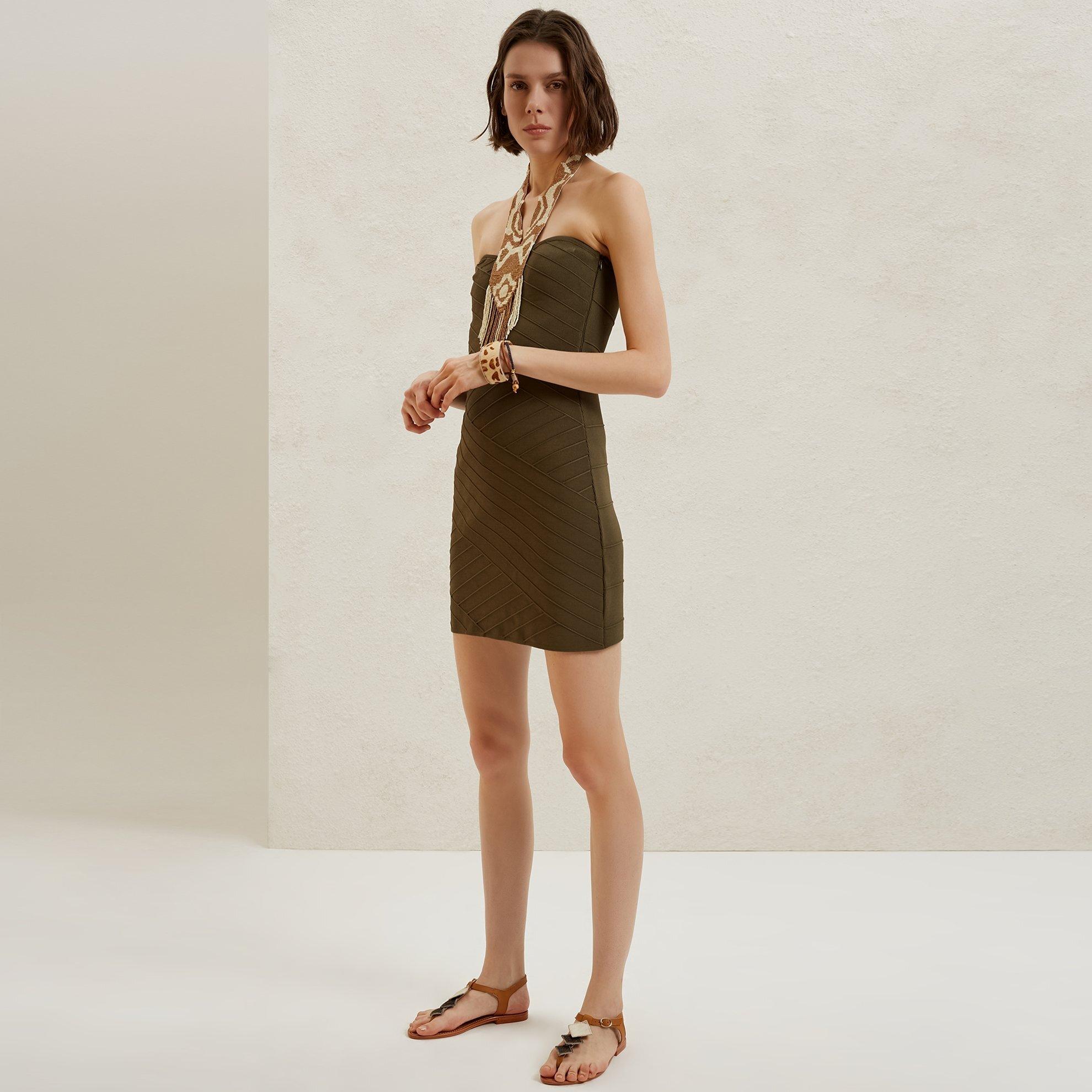 Mini Örme Elbise