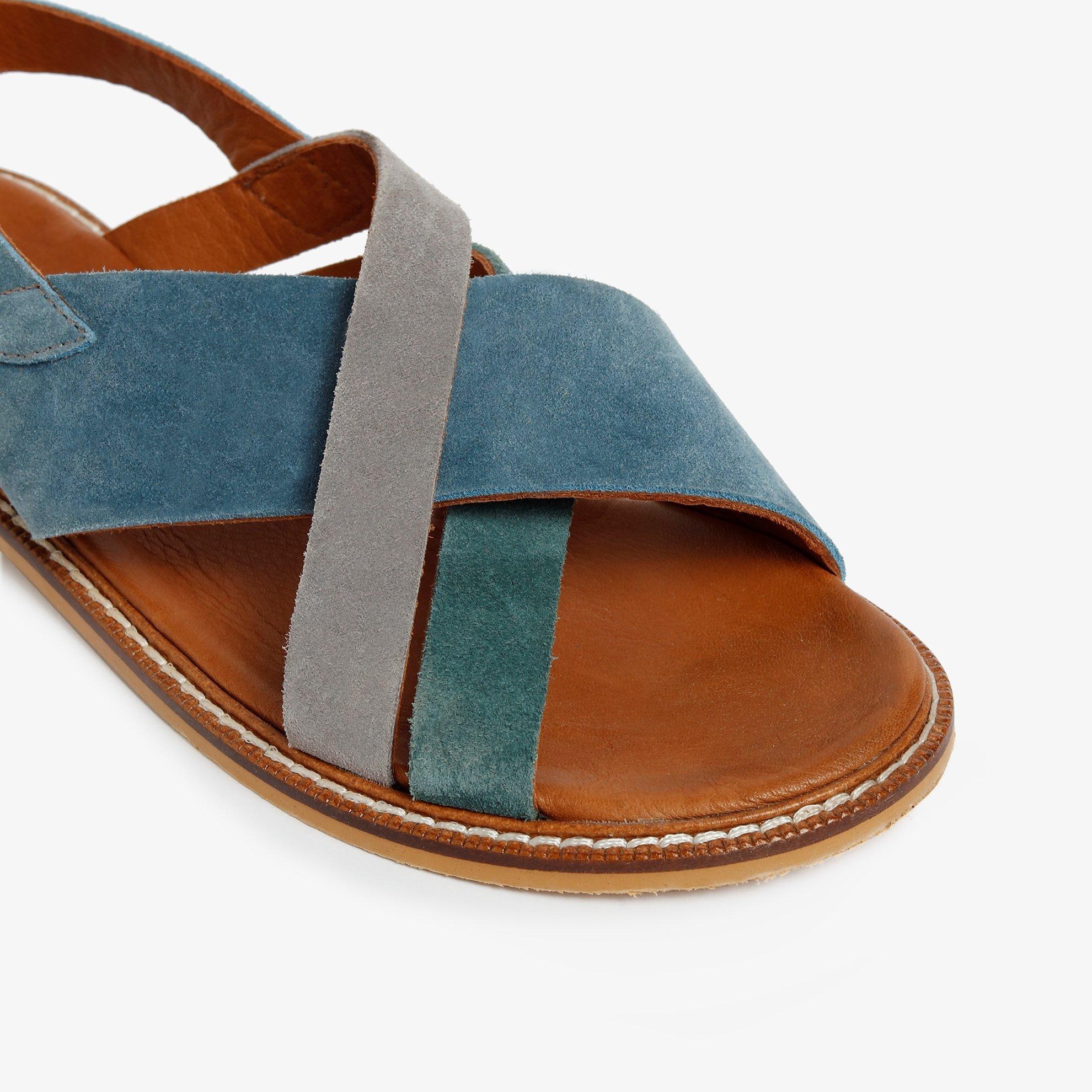 Süet Deri Sandalet