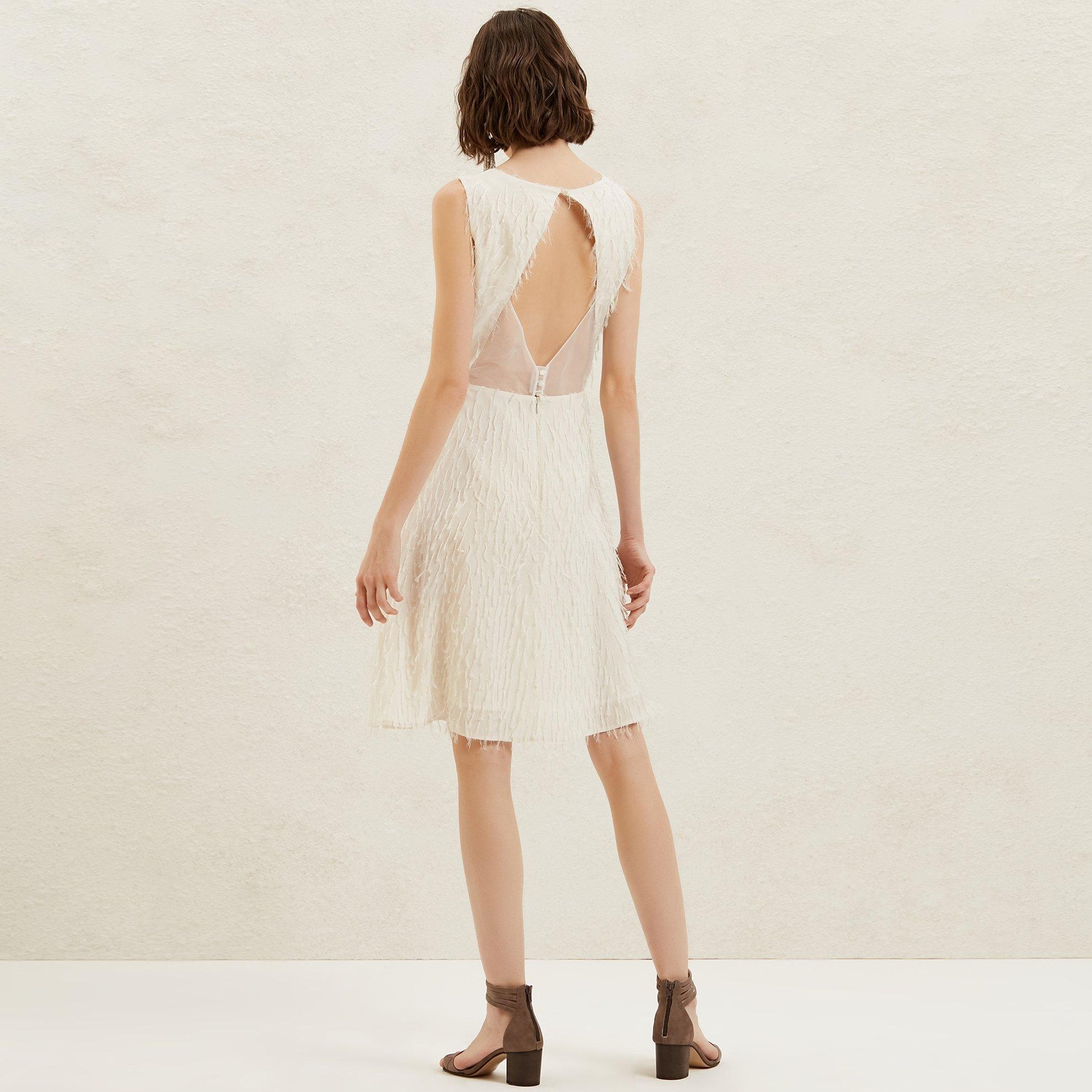 Backless A Line Dress