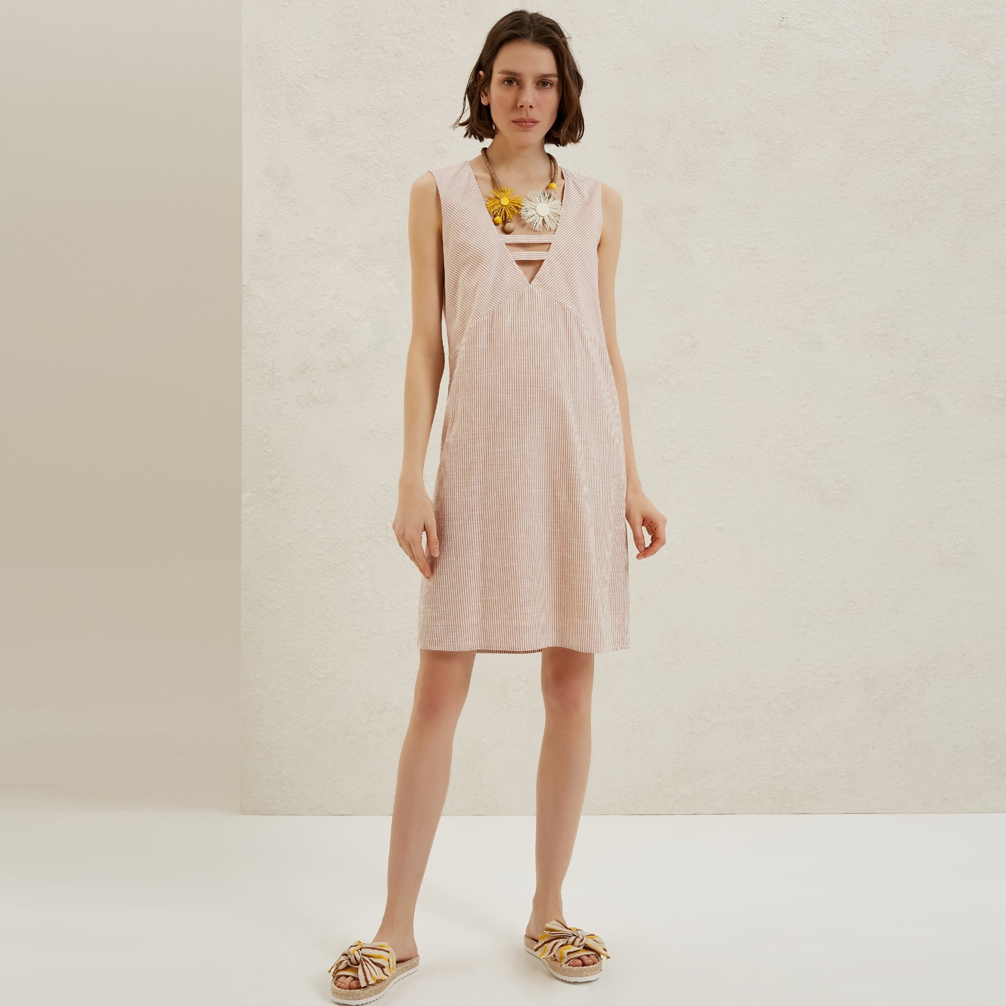 Aline V Neck Dress