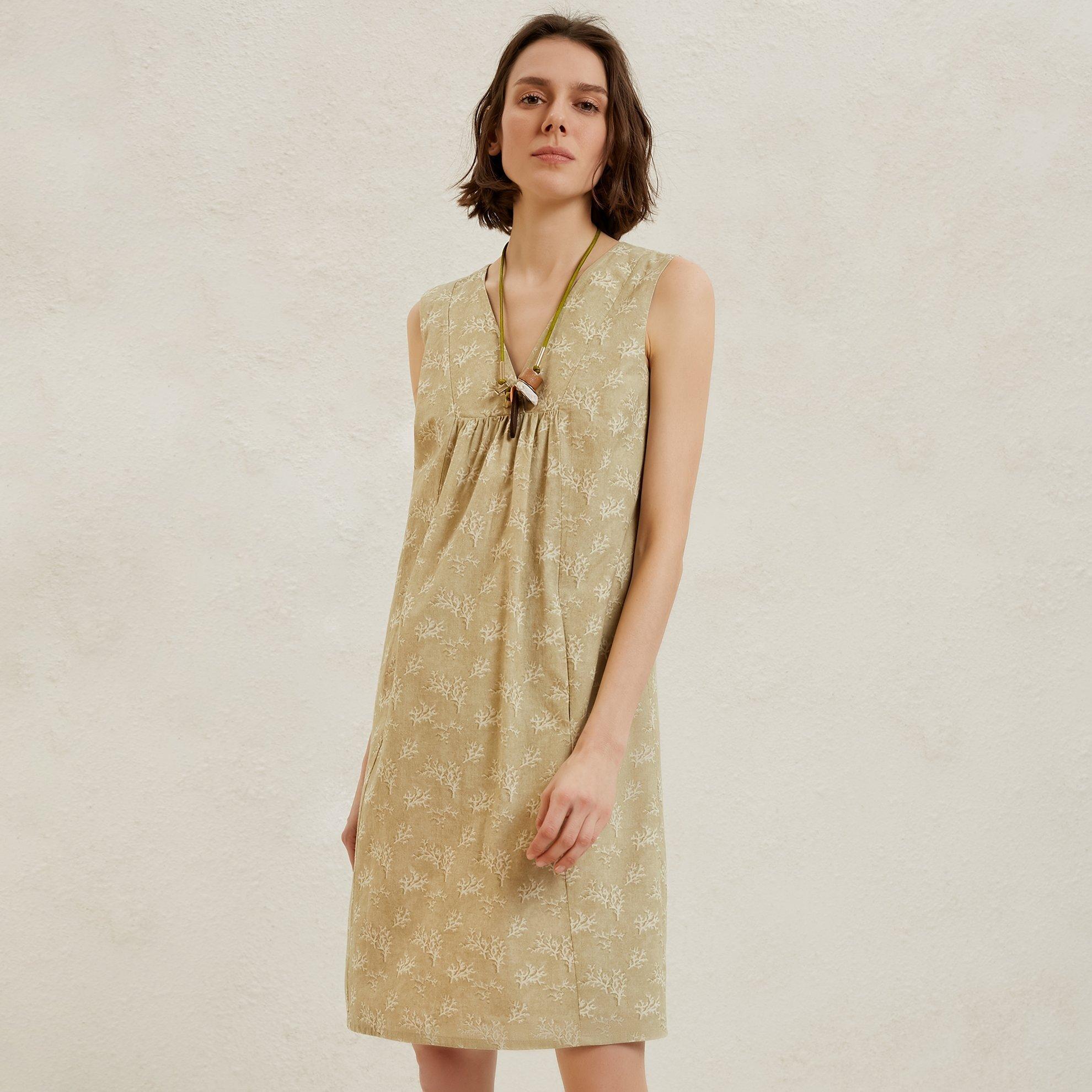 Cut Detailed Mini Dress