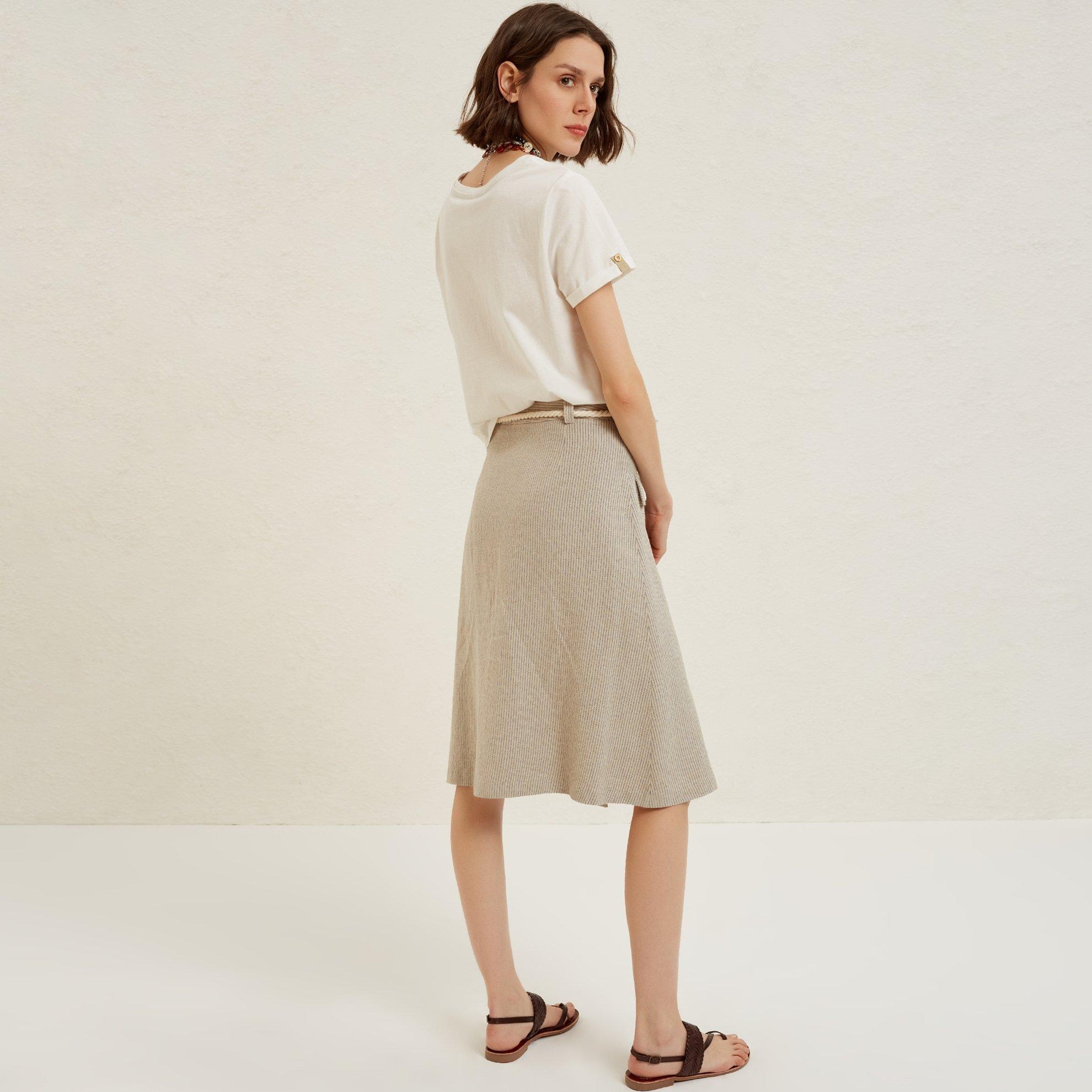 Belt Detail Skirt