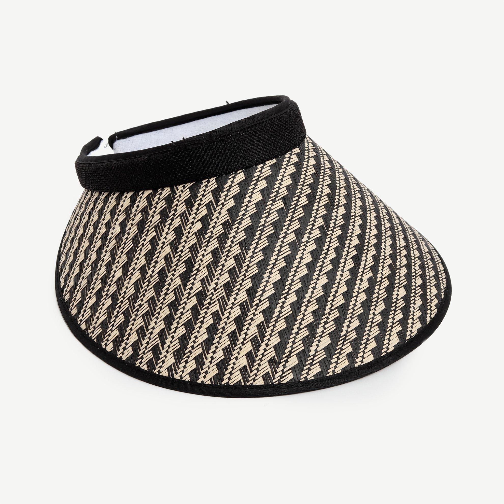 Kalın Desenli Vizör Şapka