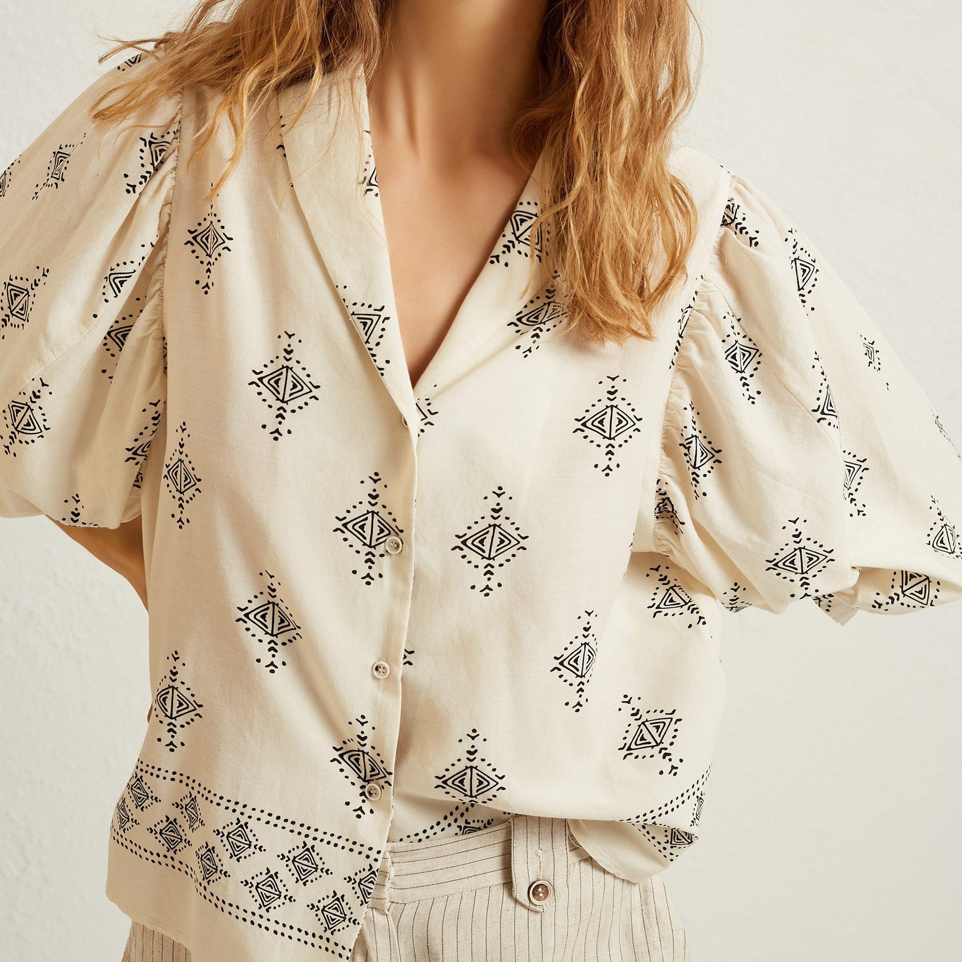 Sleeve Detail Shirt