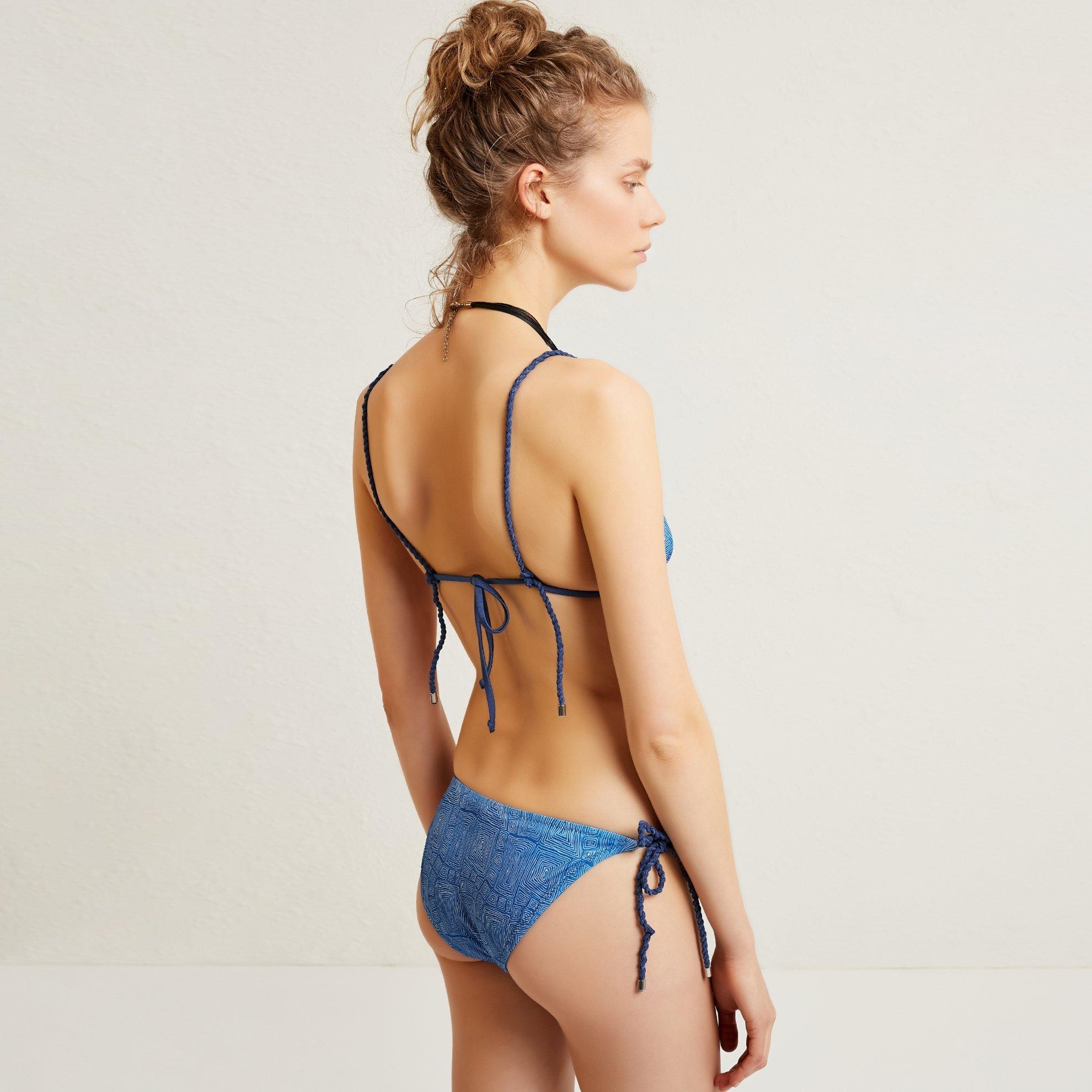 Bikinihose mit Schnürung