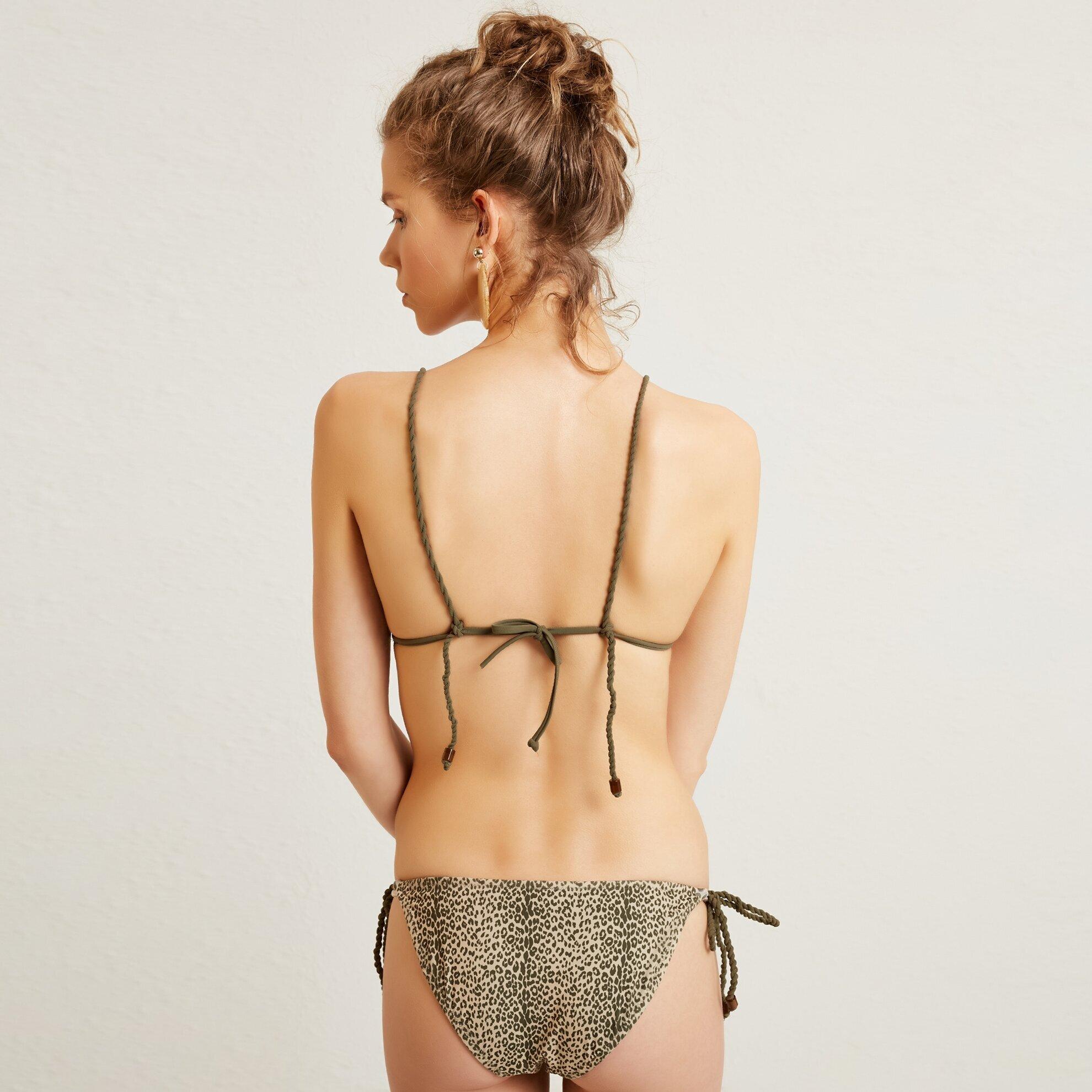 Bağ Detaylı Bikini Altı
