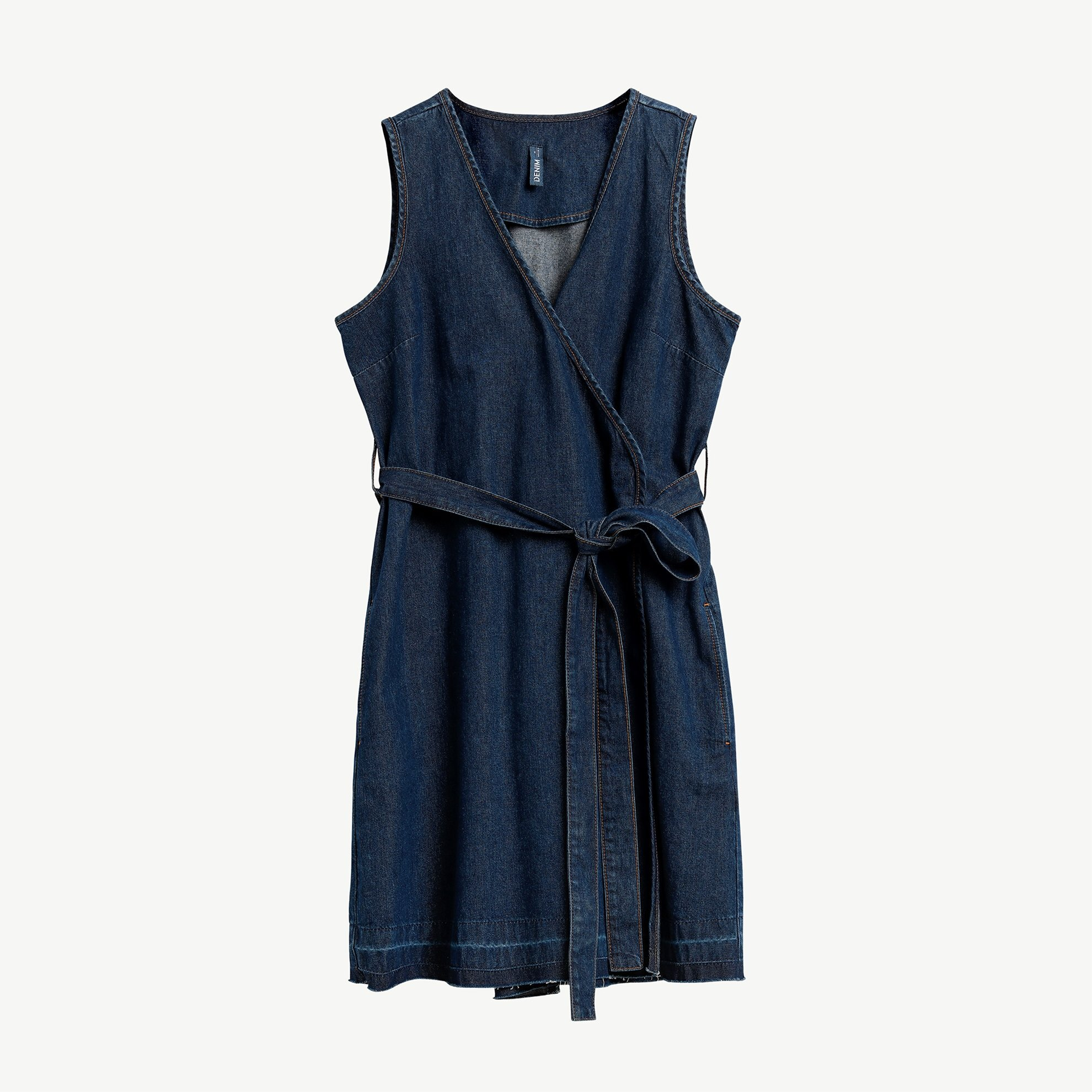 Double Breasted Denim Dress