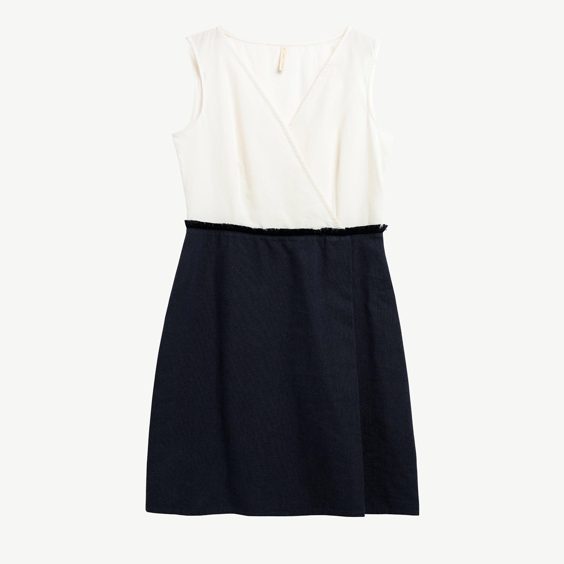 Envelope Neck Over The Knee Dress