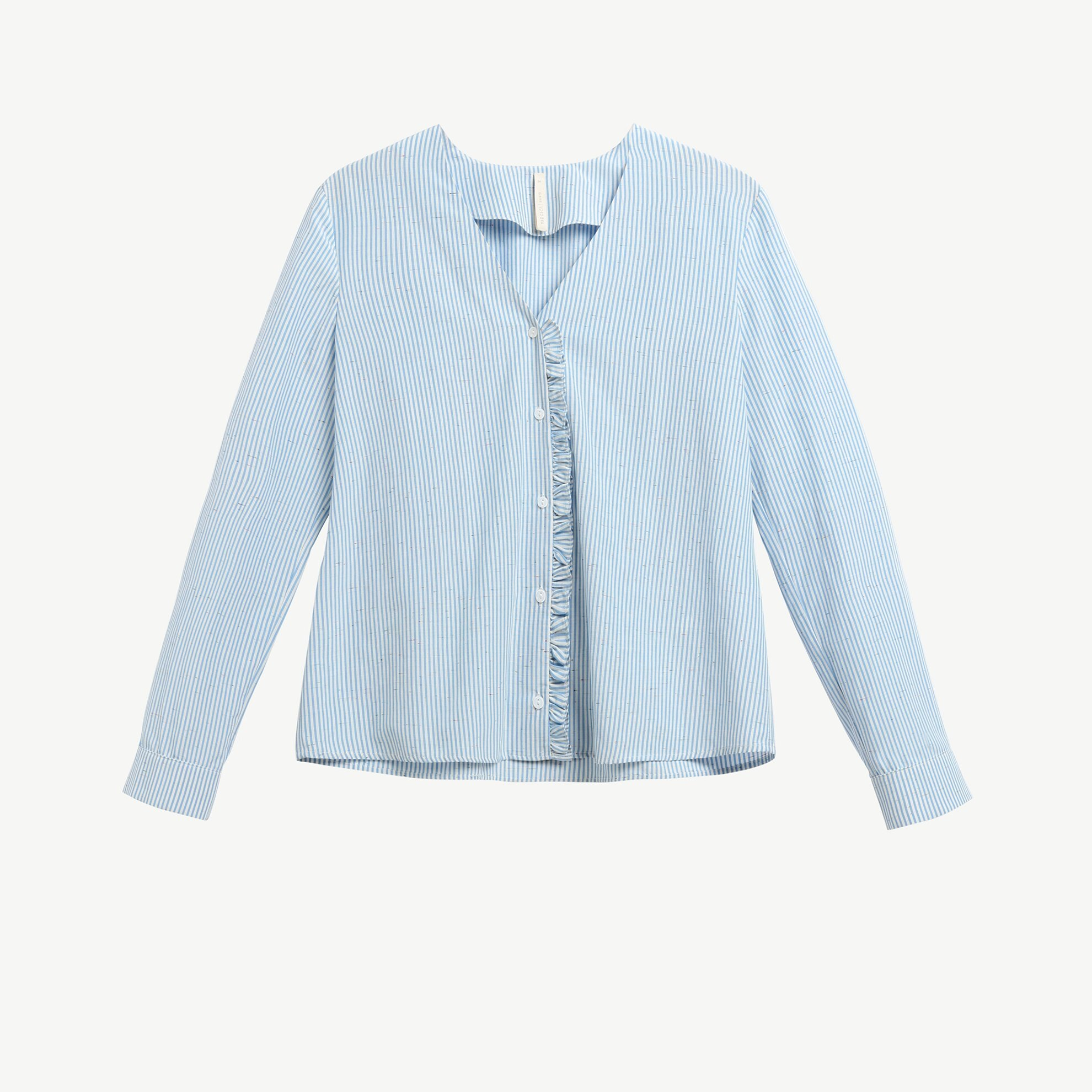 Ruffle Detail Shirt