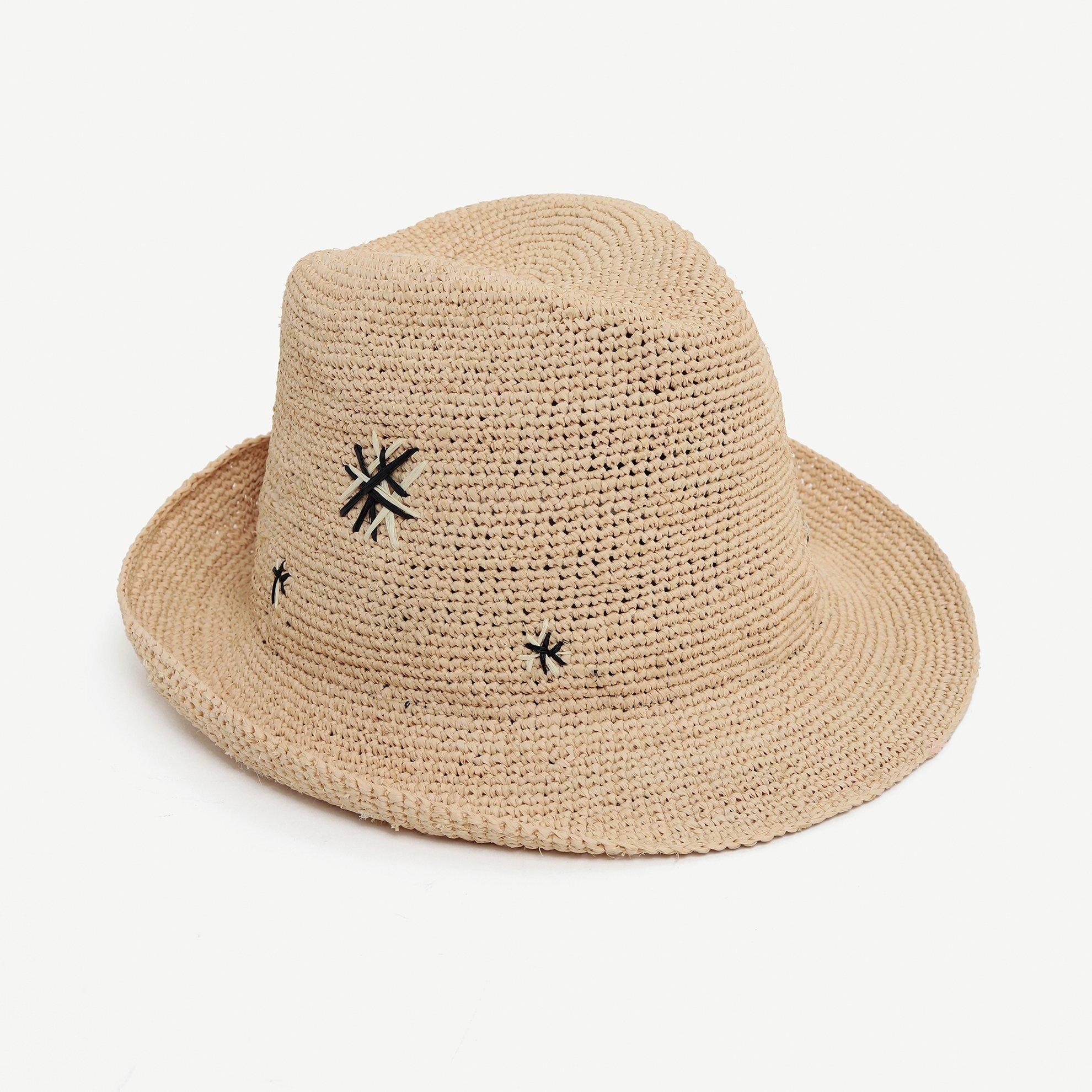 Nakışlı Fötr Şapka