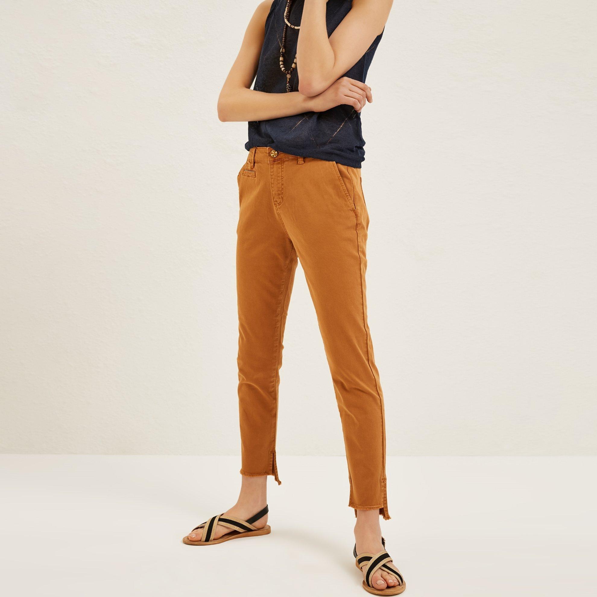 Damen Hose mit Seitenstreifen