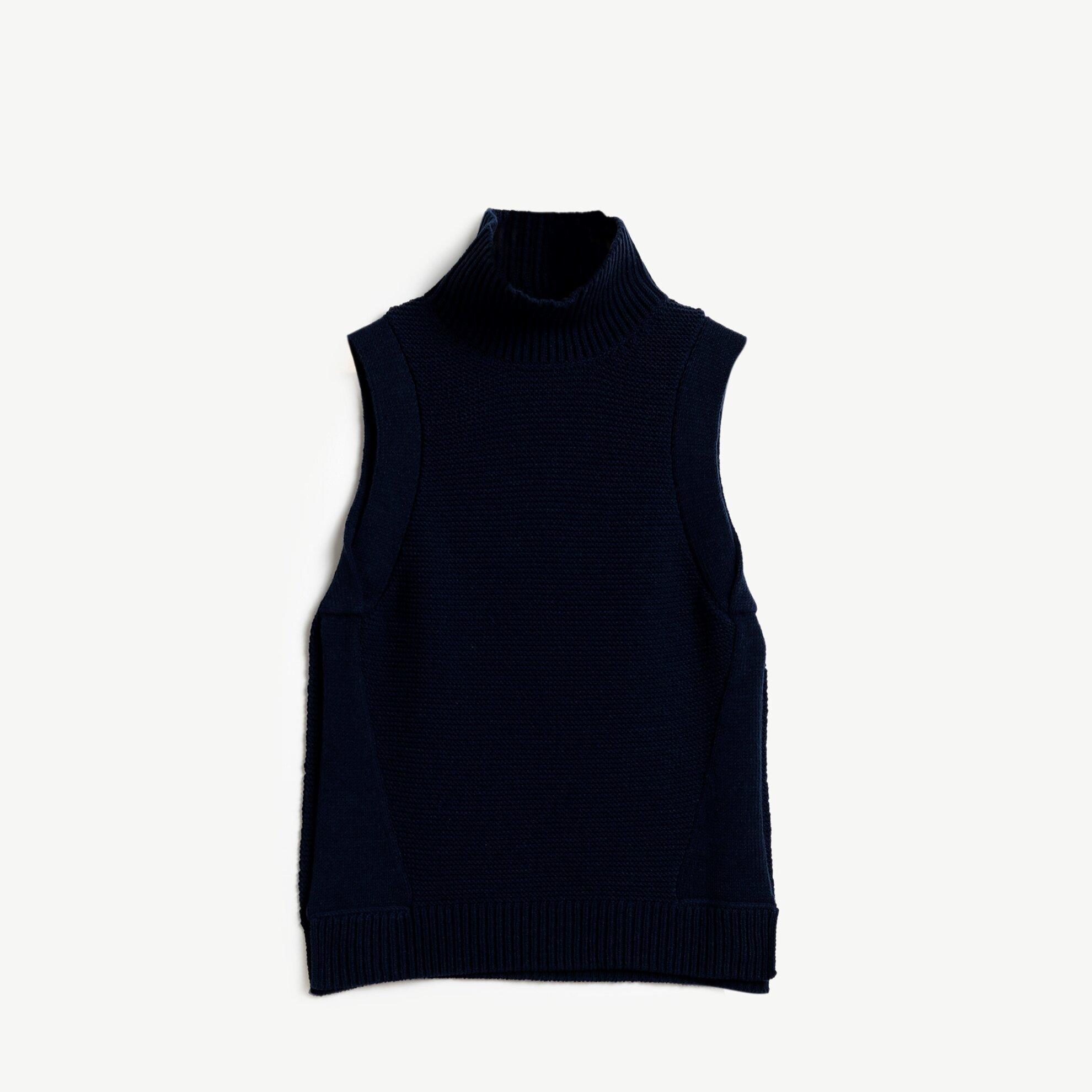 Slit Detailed Sleeveless Knitwear