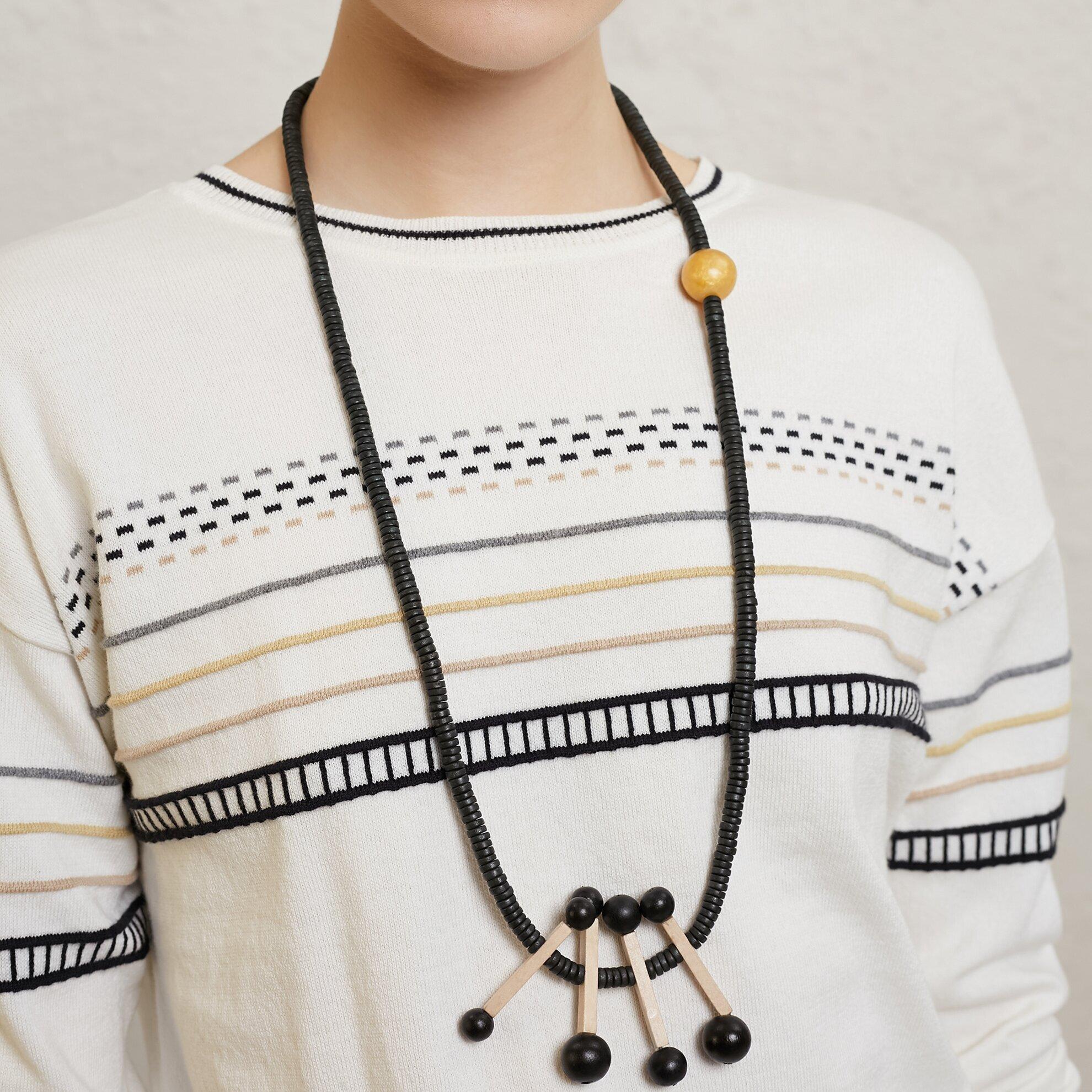 Halskette mit Stabanhänger