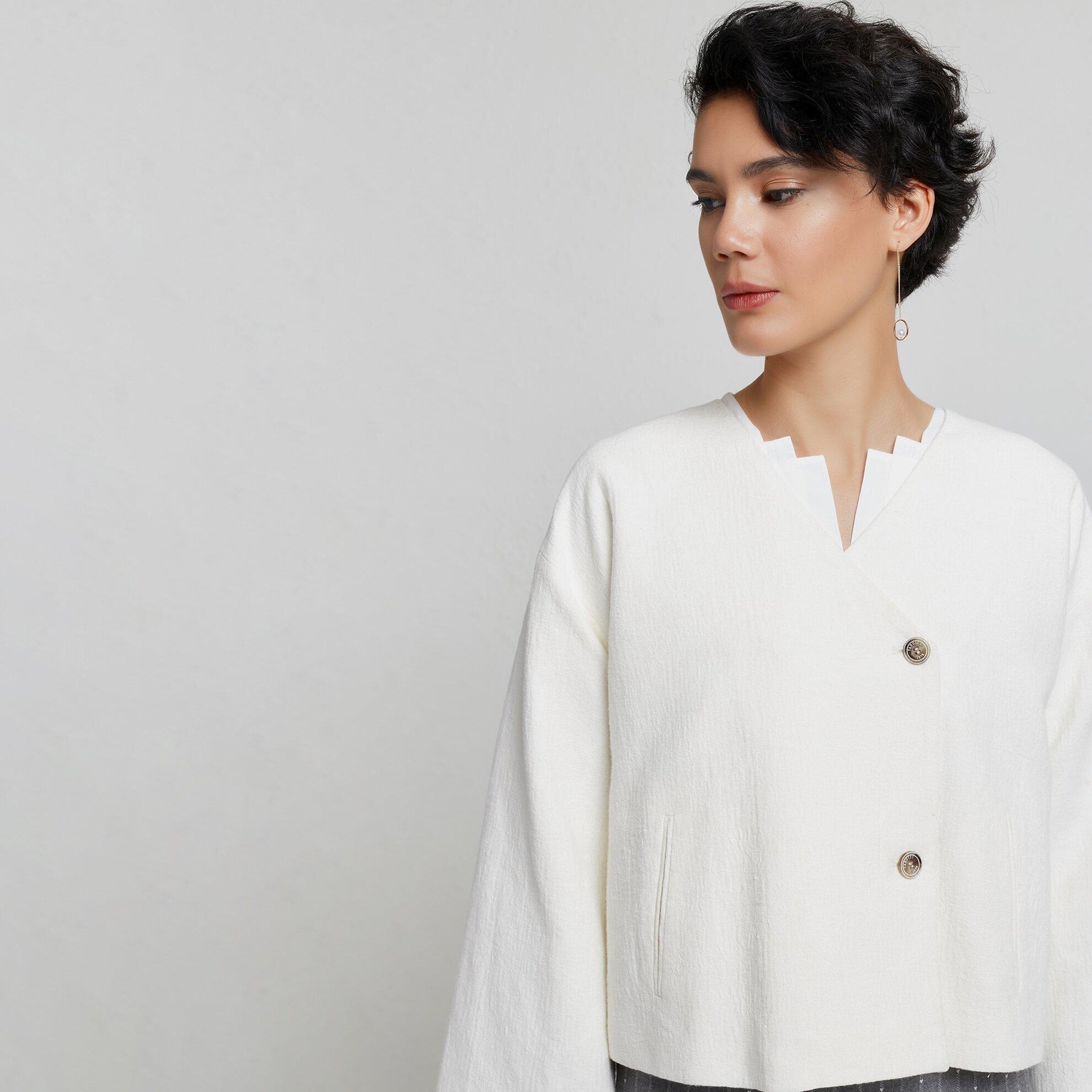 İki Düğmeli Ceket