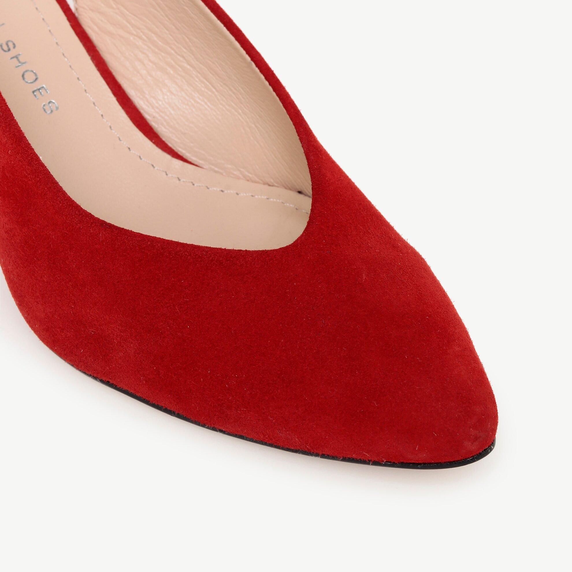 Topuklu Süet Ayakkabı