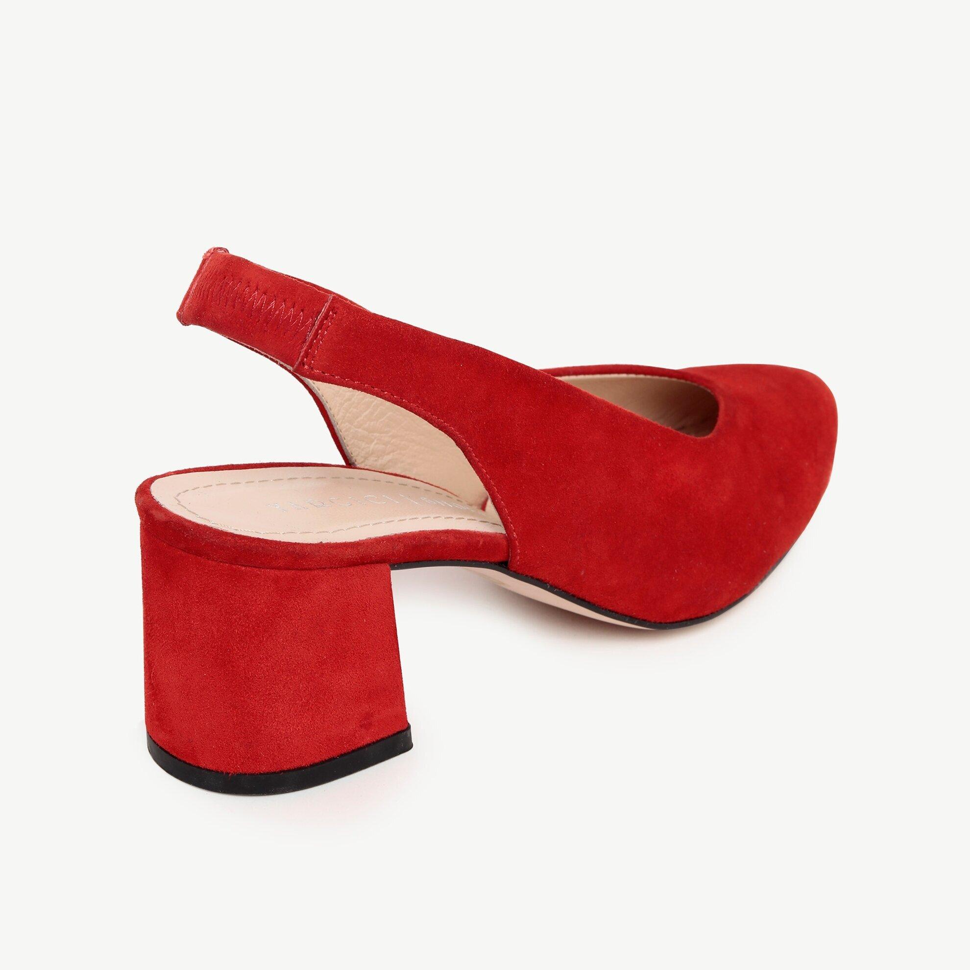 Suede High Heel Shoe