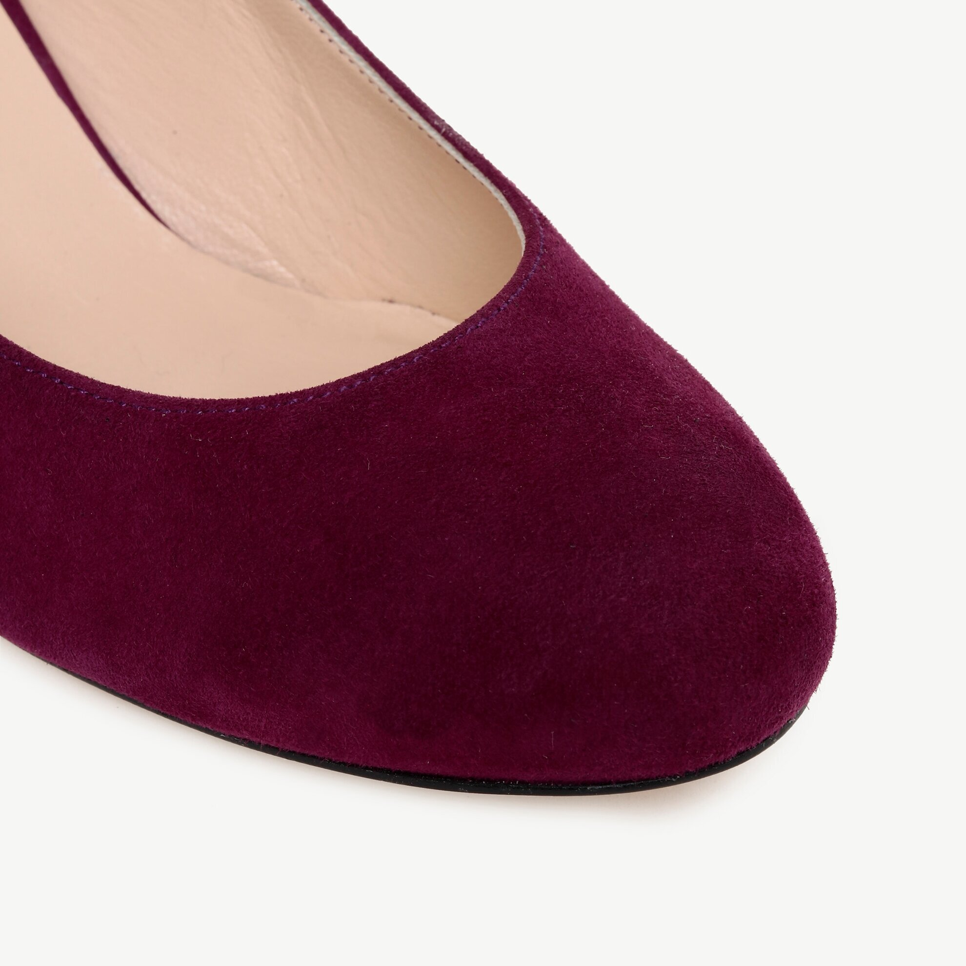 Suede High Heel Shoe