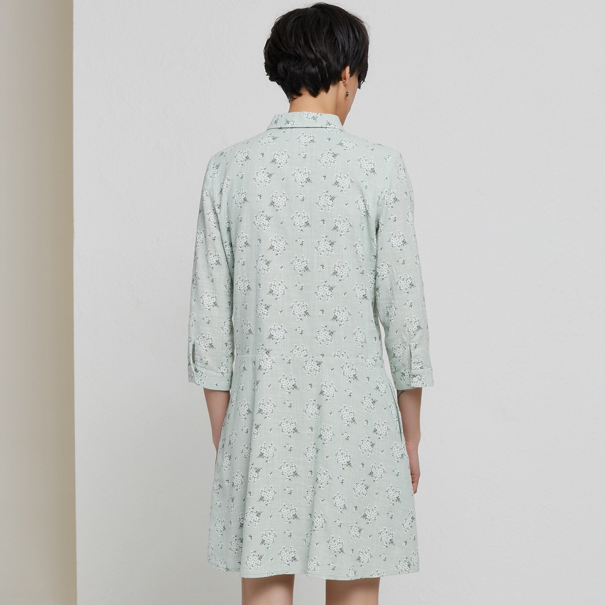Damen Hemdkleid