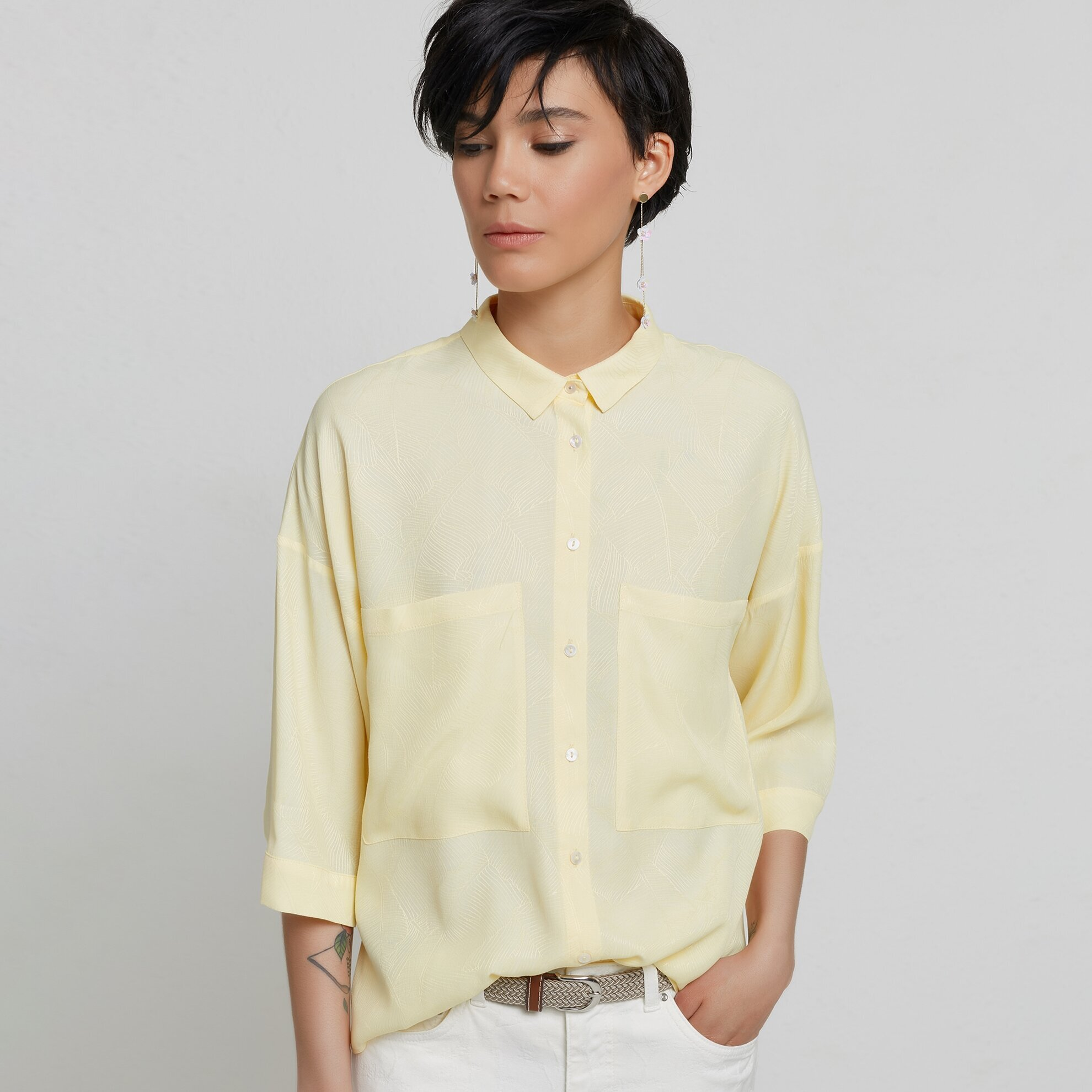 Pocket Detailed Shirt