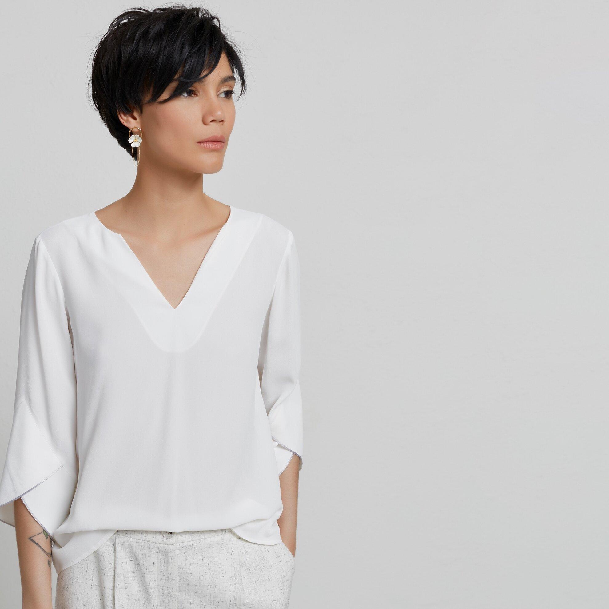 Kimono Kollu Bluz