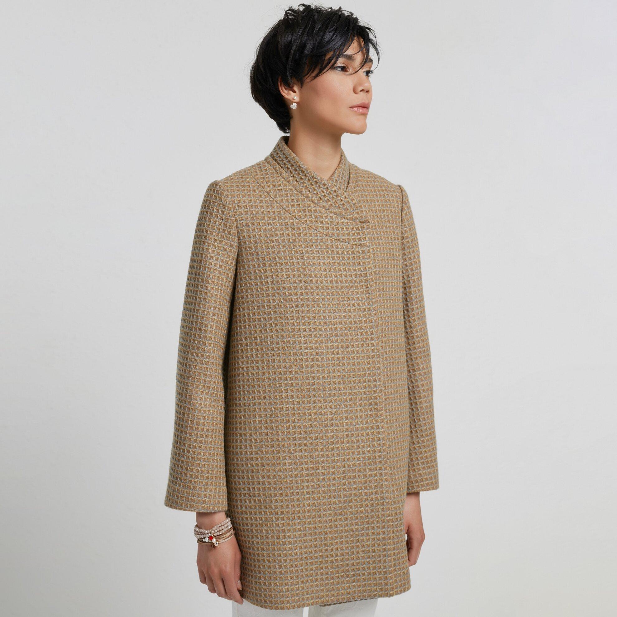 Panel Detaylı Palto
