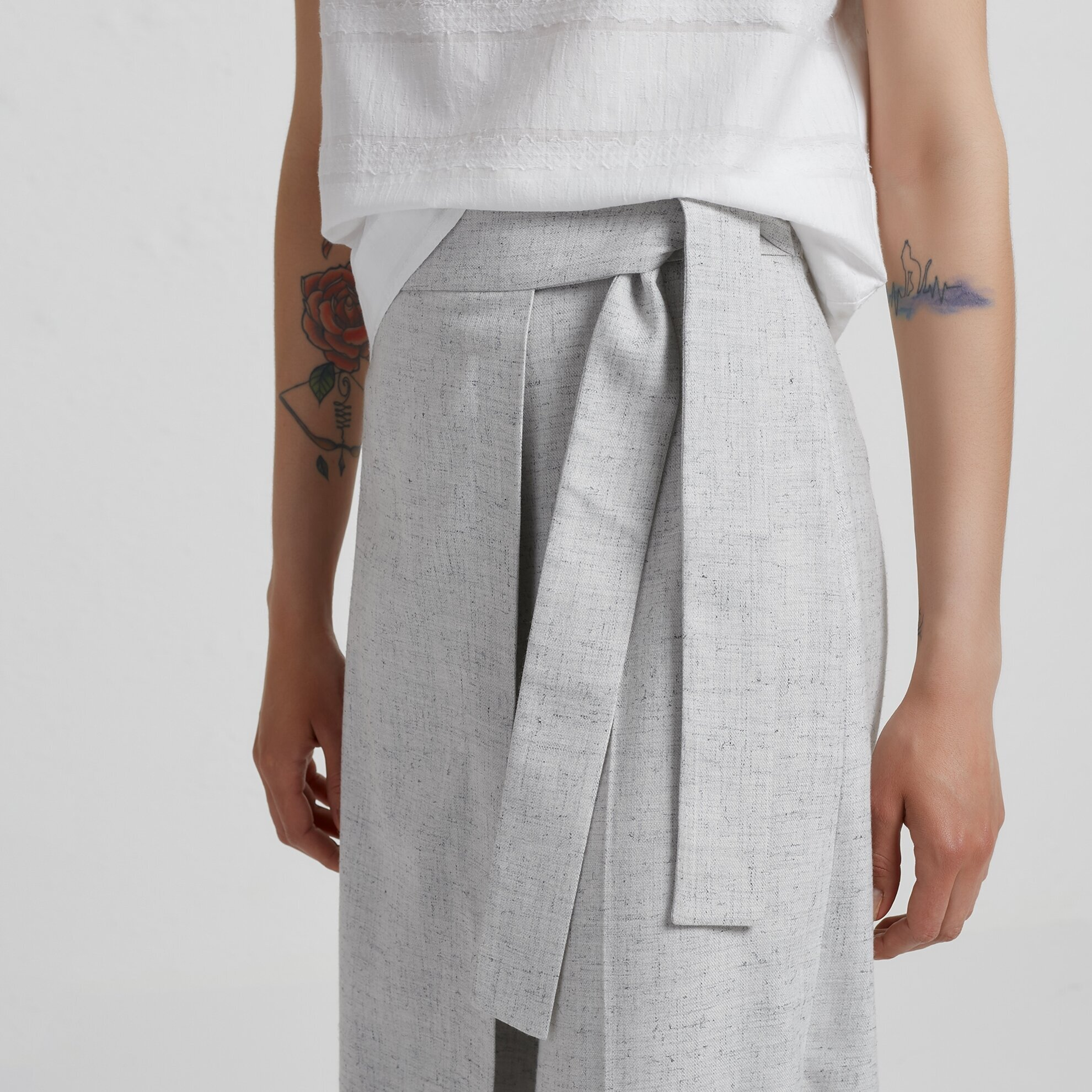 Front Tied Trousers