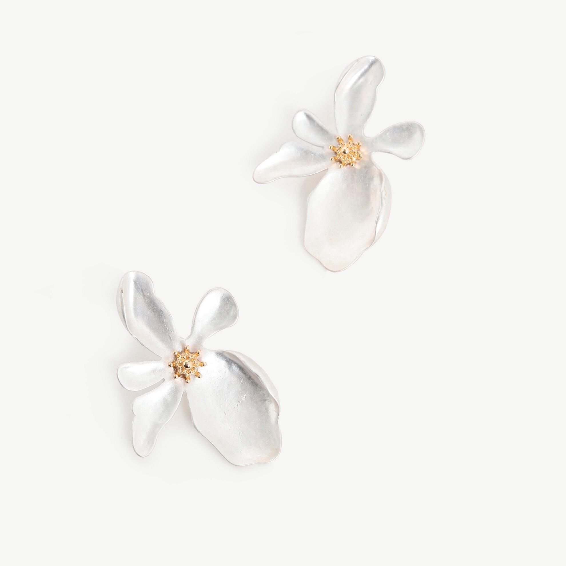 Ohrringe mit Blumenmuster