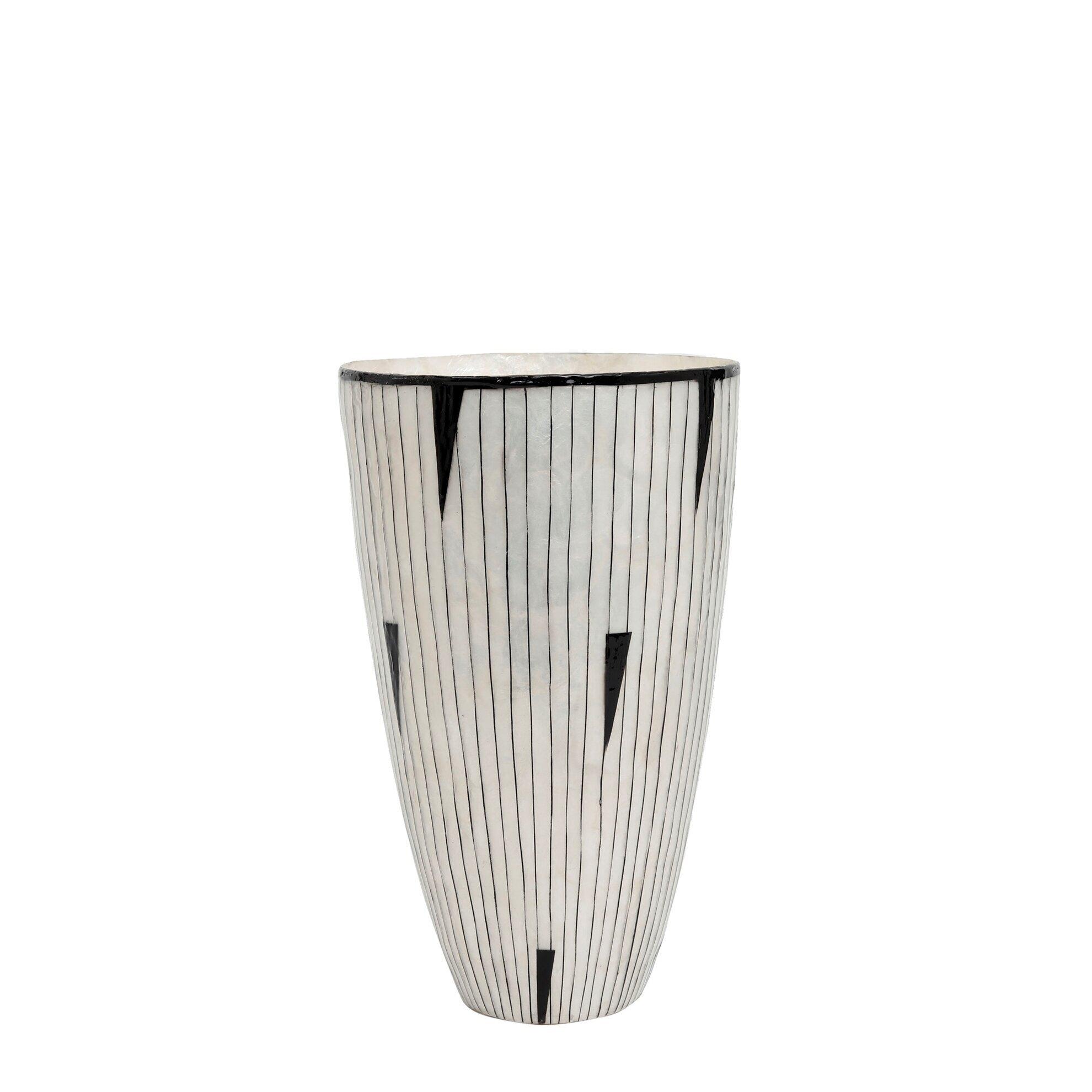 Vase 20 X 20 X 33 cm