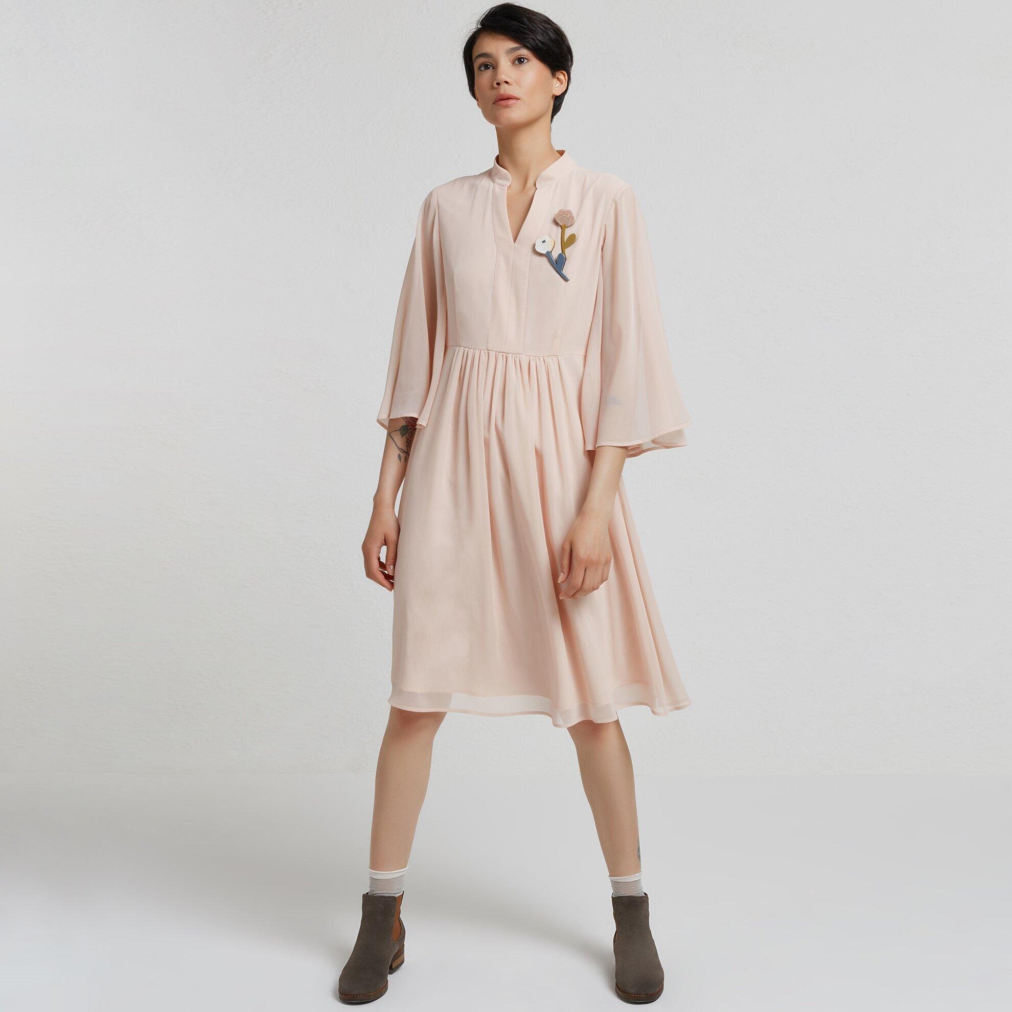 Bathwing Midi Dress