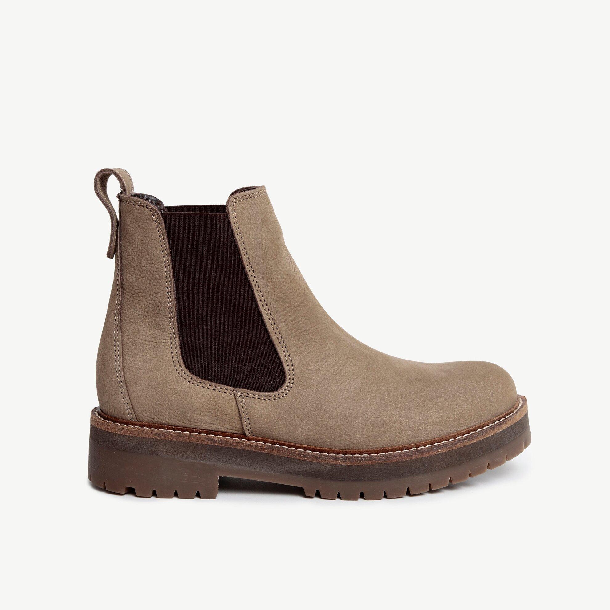 Nubuck Leather Boot