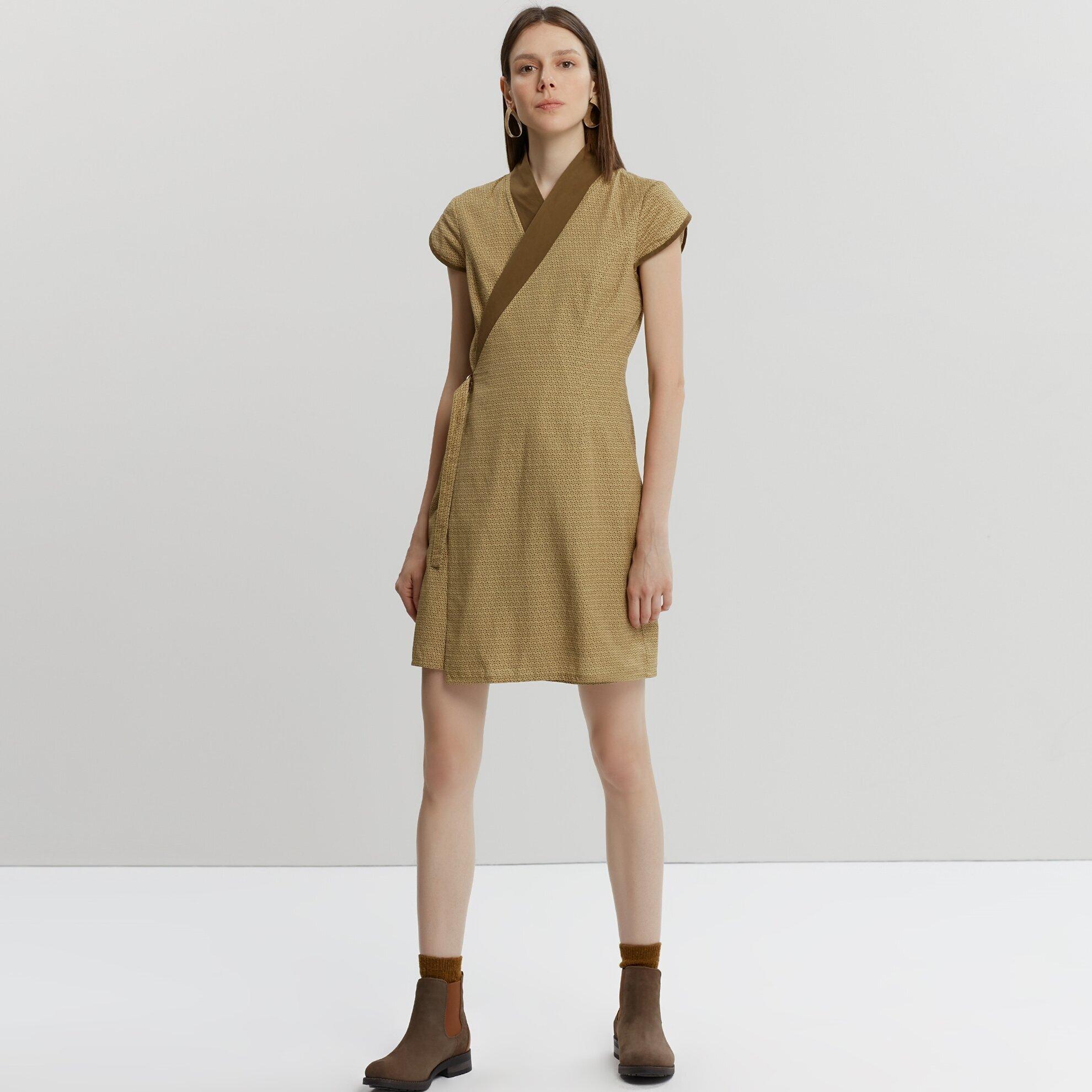 Sleeve Detail Dress