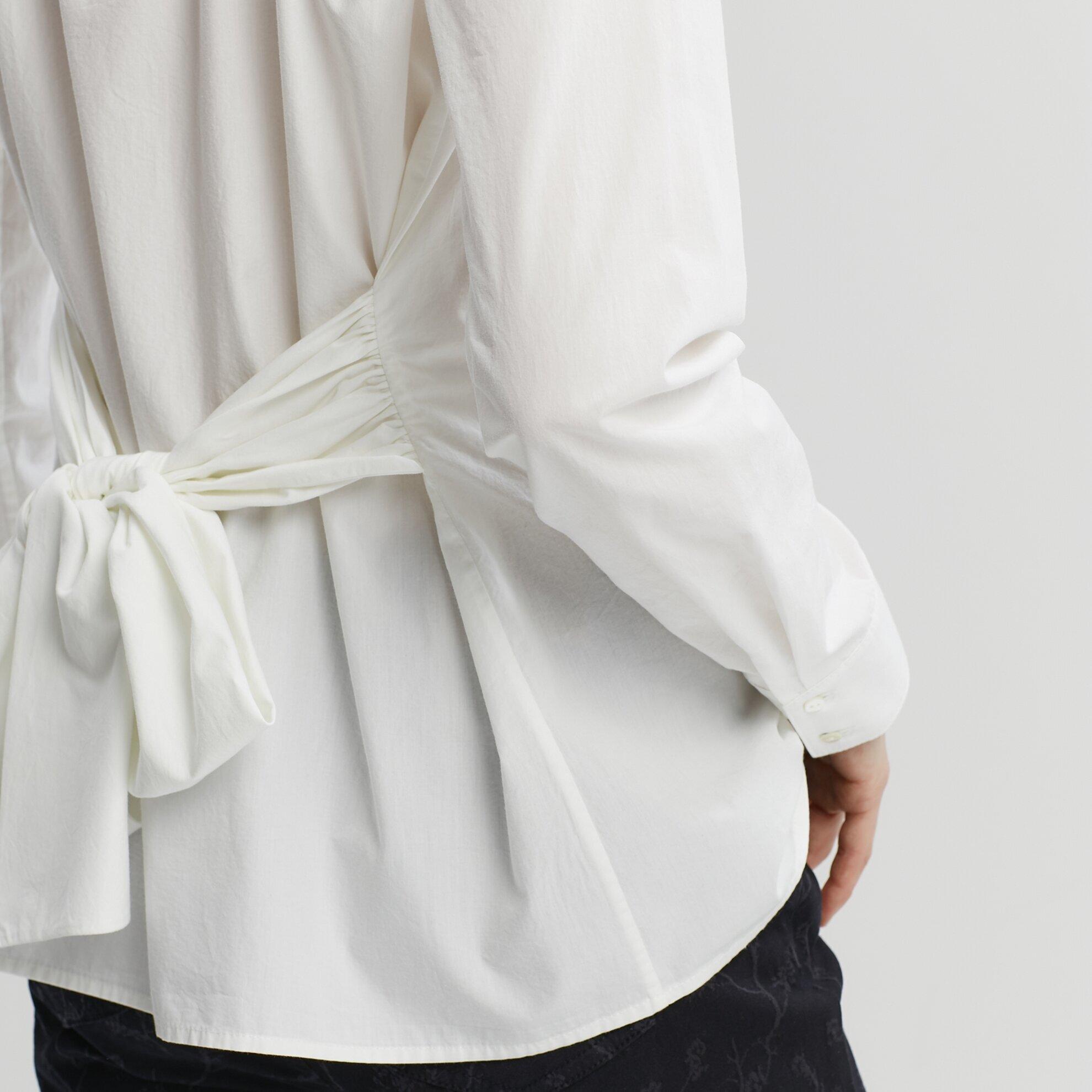 Tiying Detailed Shirt