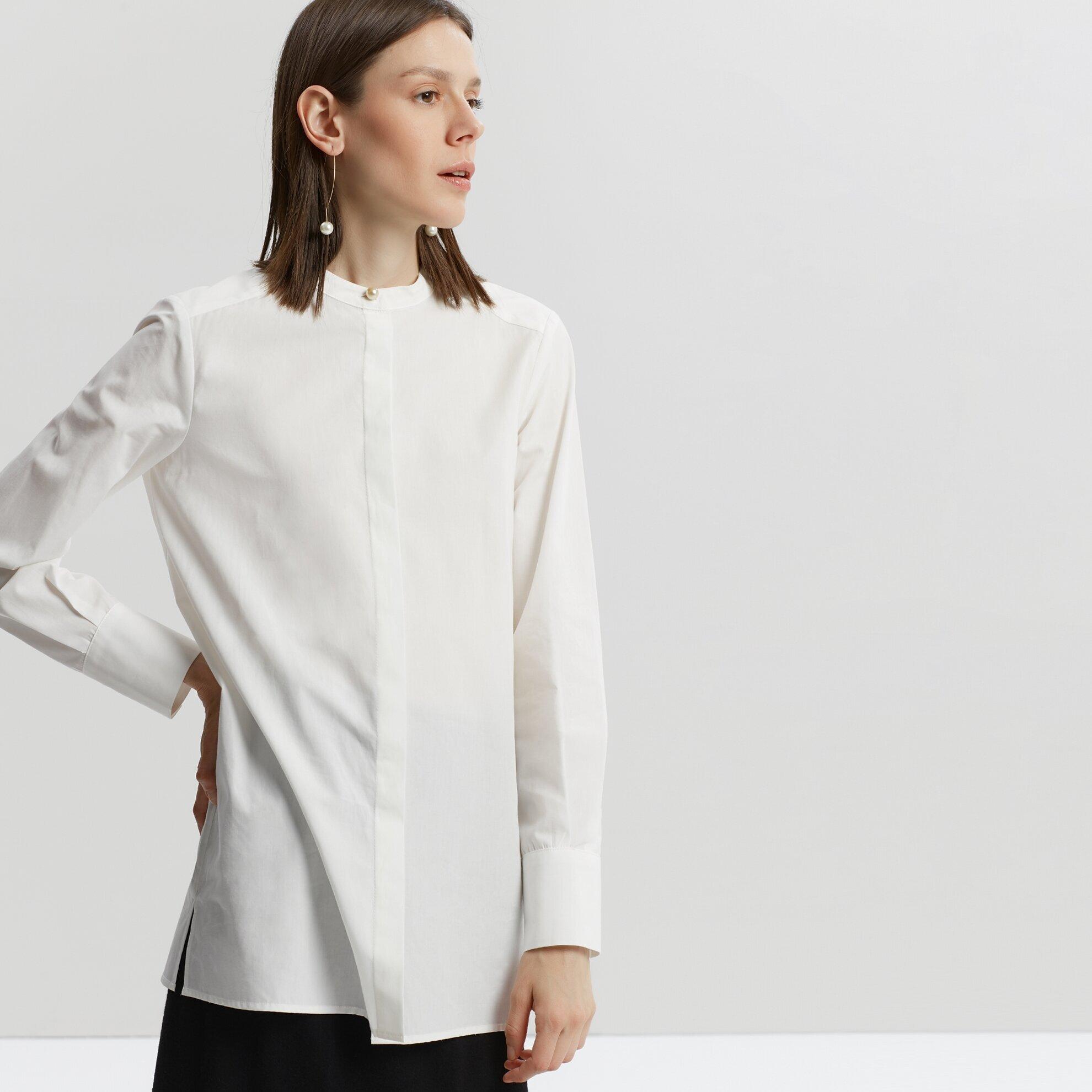İnci Düğmeli Gömlek