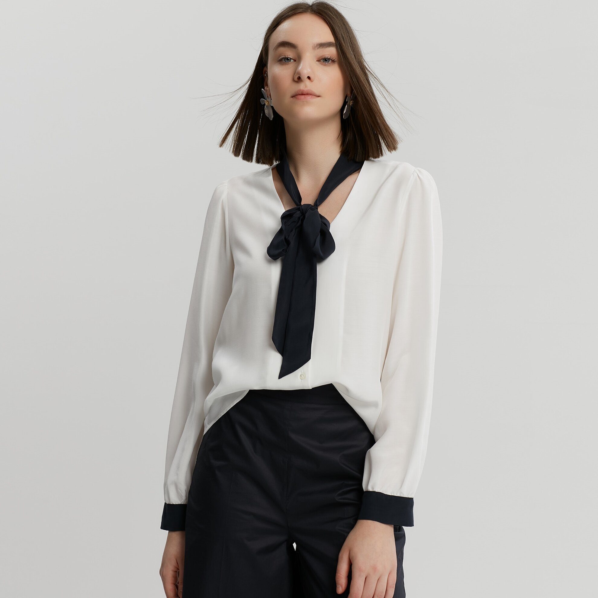 Foulard Detailed Shirt