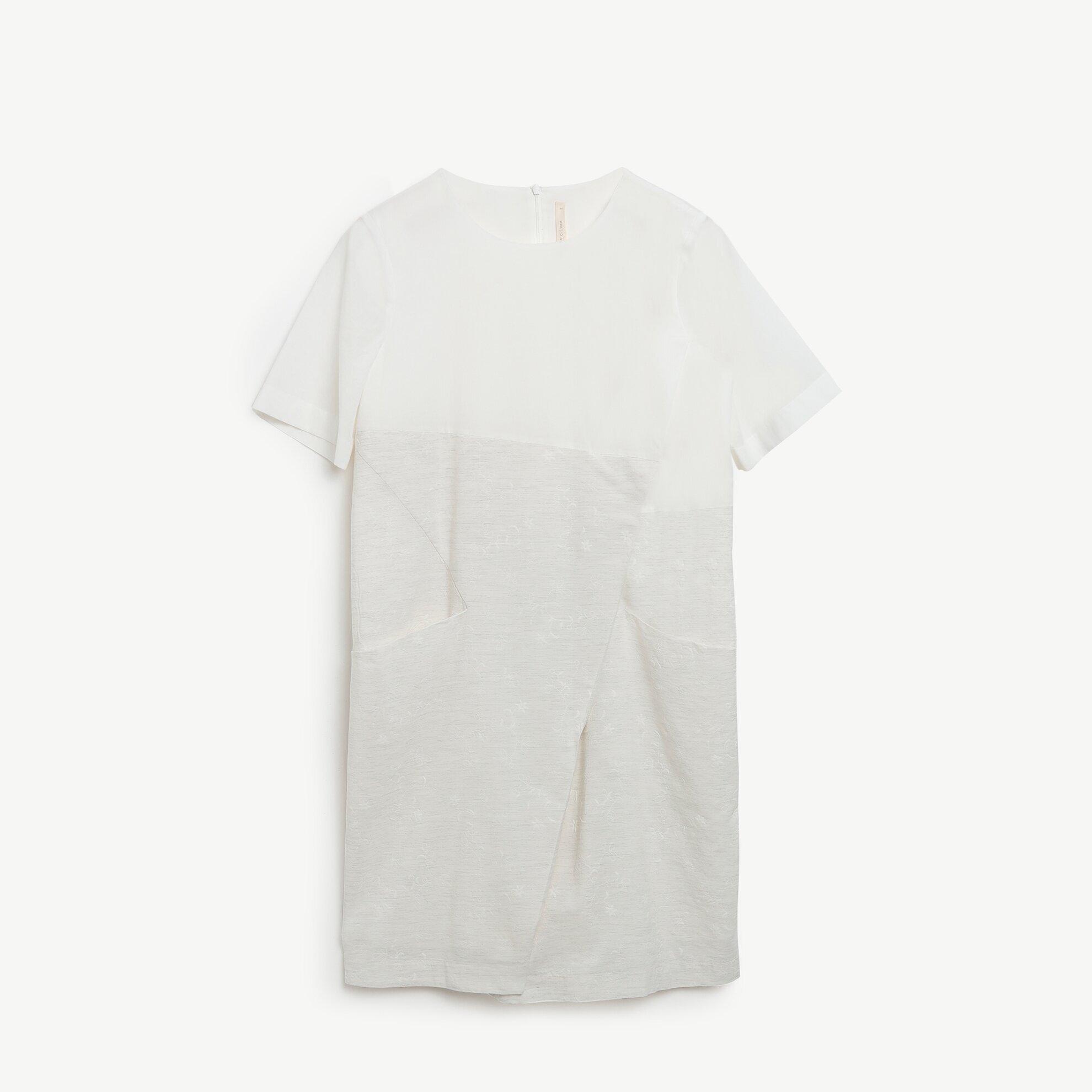 Blok Detaylı Elbise
