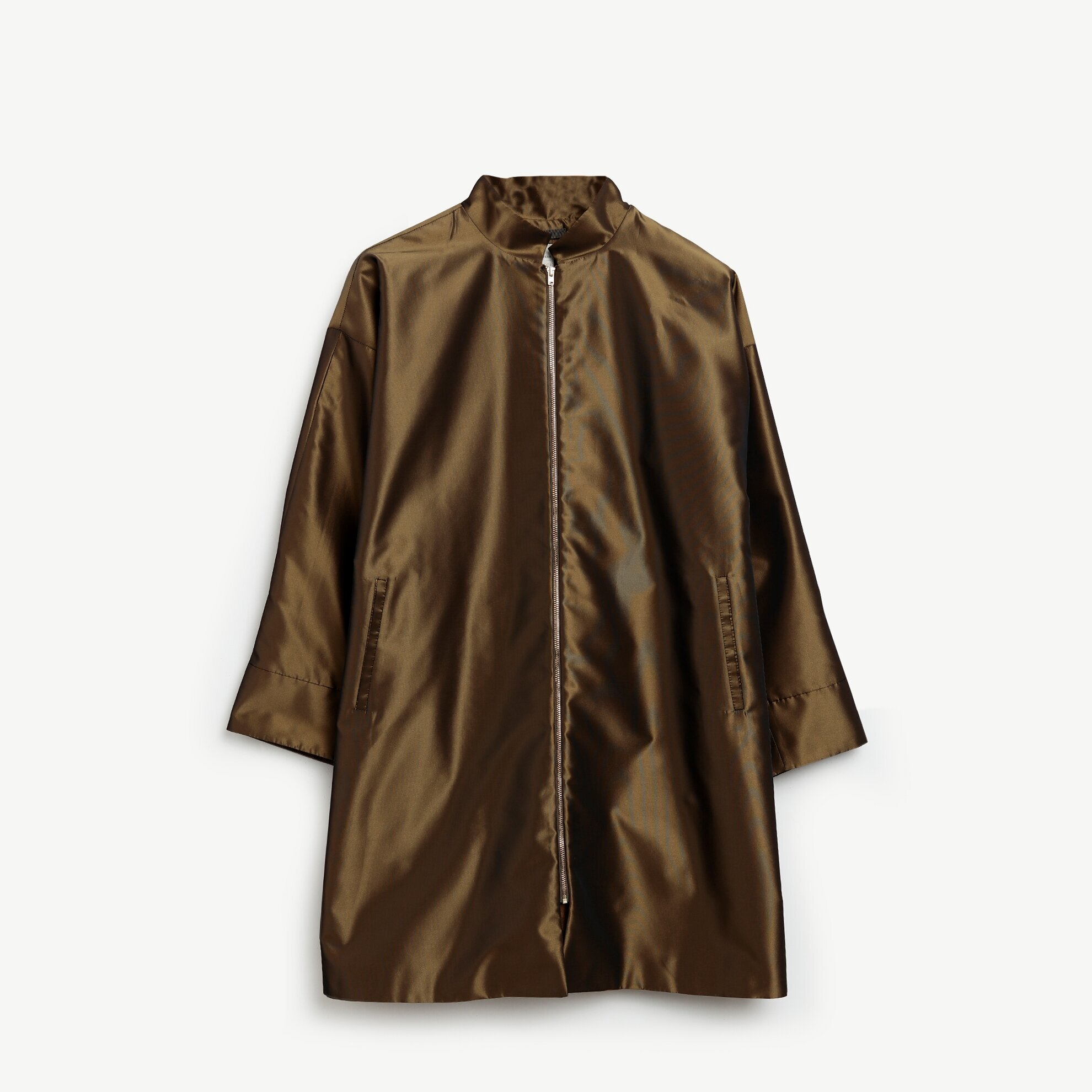 Bow Detailed Trenchcoat