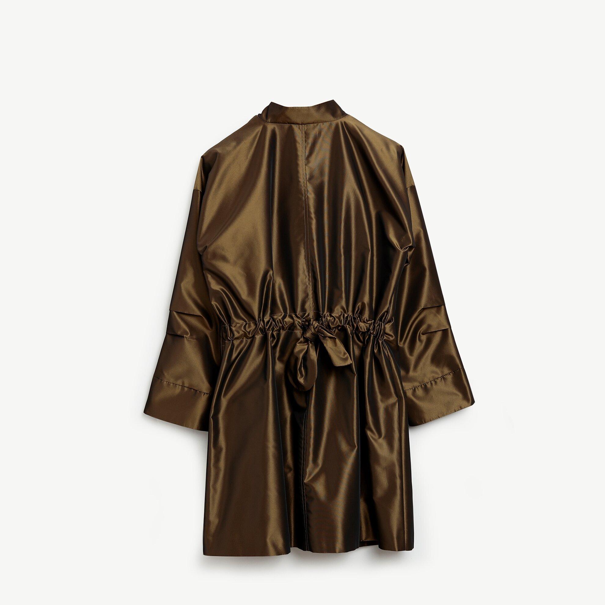 Damen Mantel mit Schleife