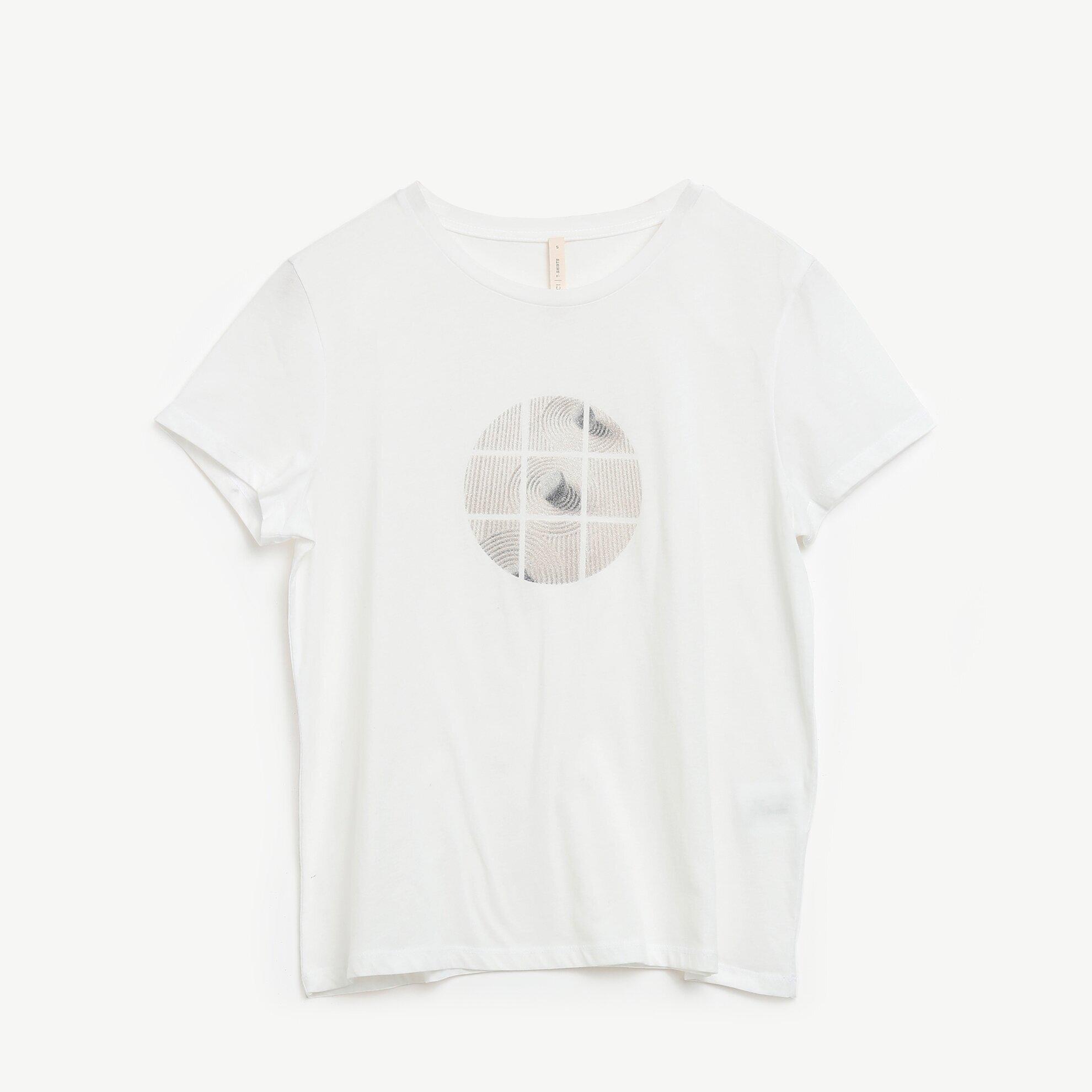 T-Shirt kurzarm mit Applikationen