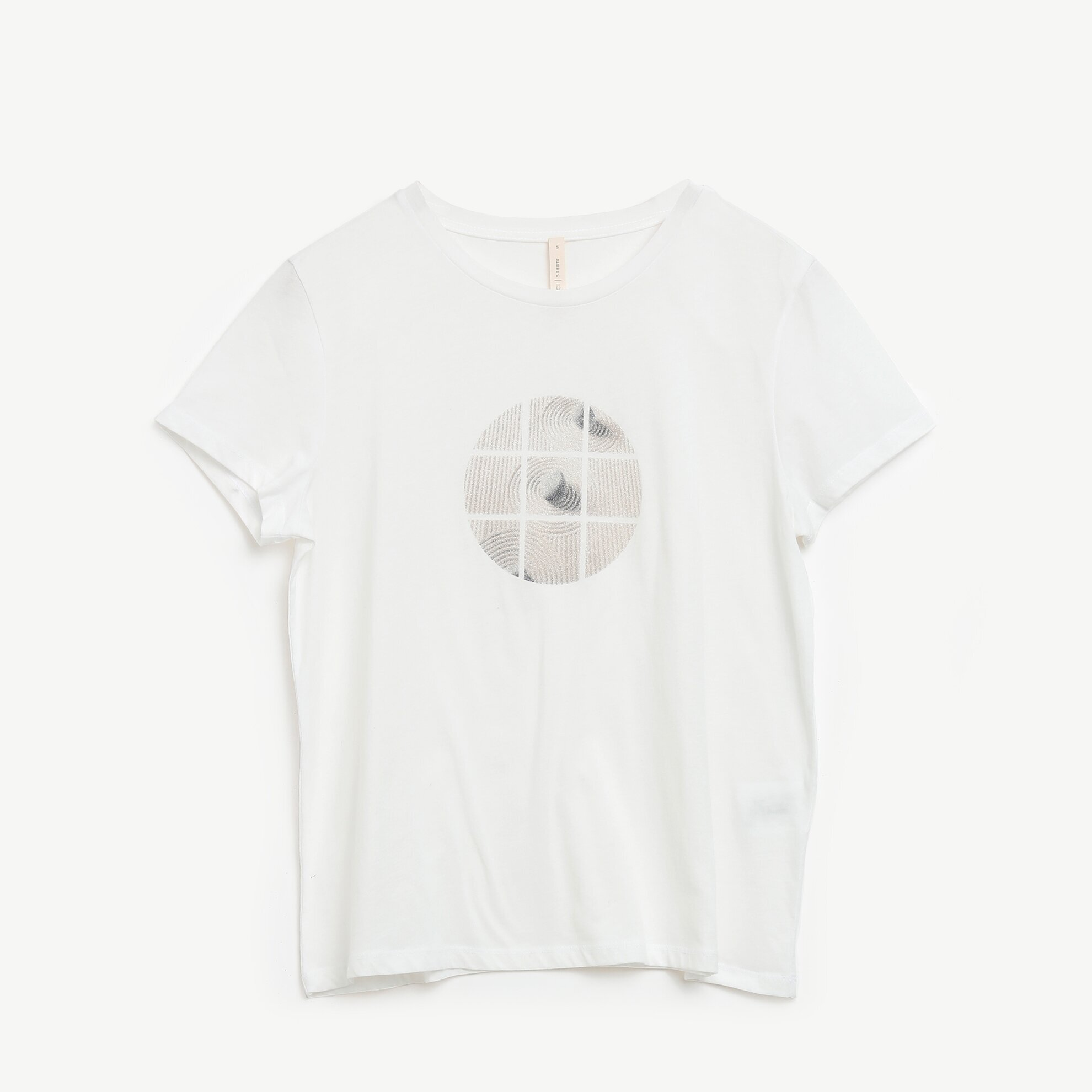 Print Detailed Short Sleeve T-Shirt