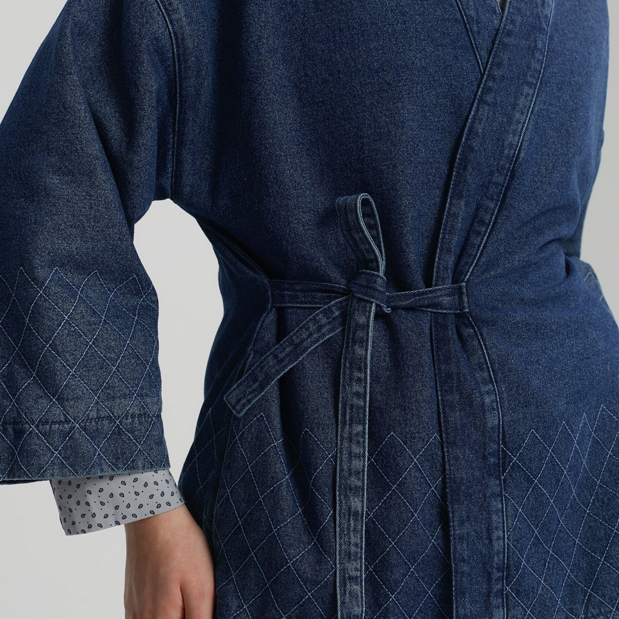 Kimono Denım Ceket