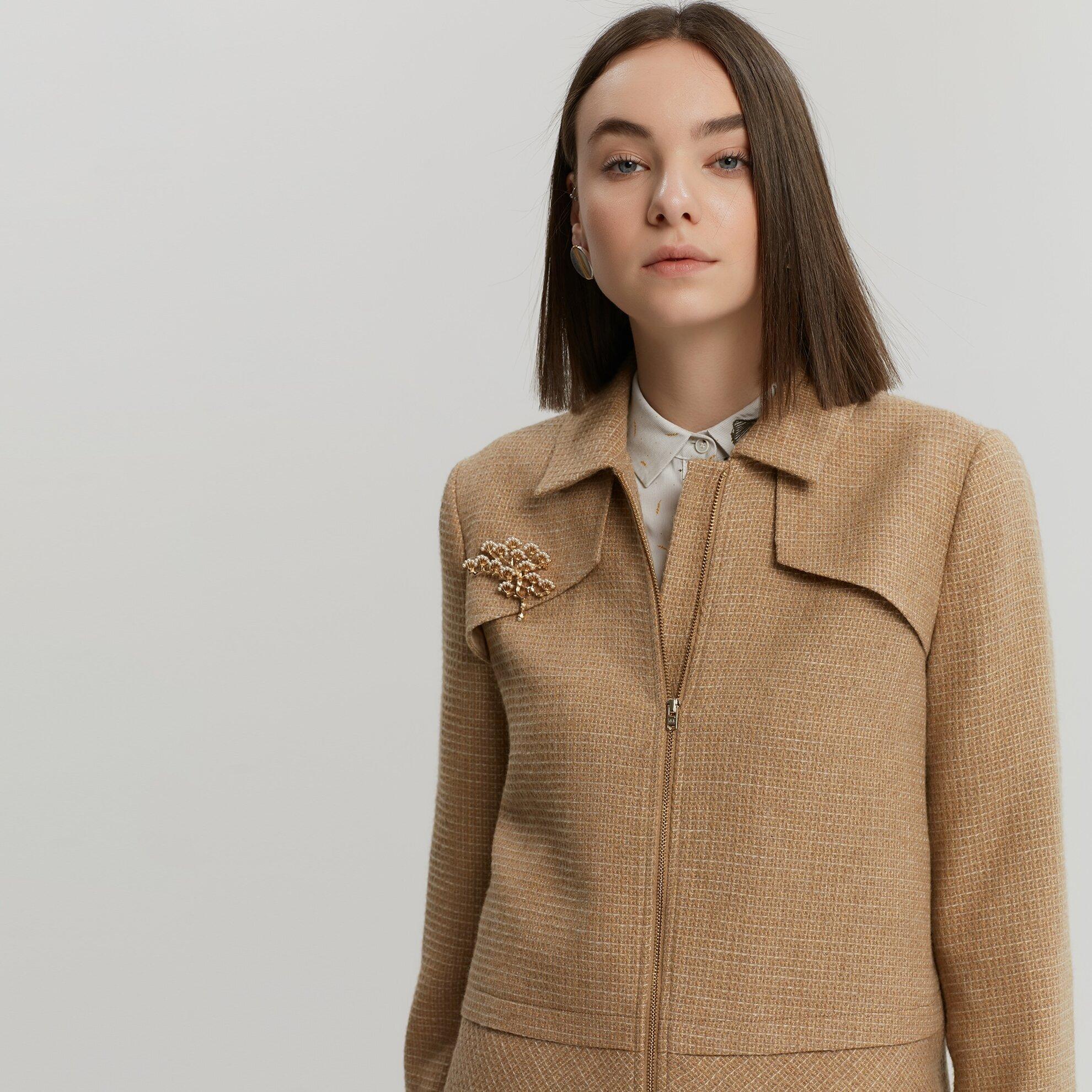 Panel Detaylı Ceket