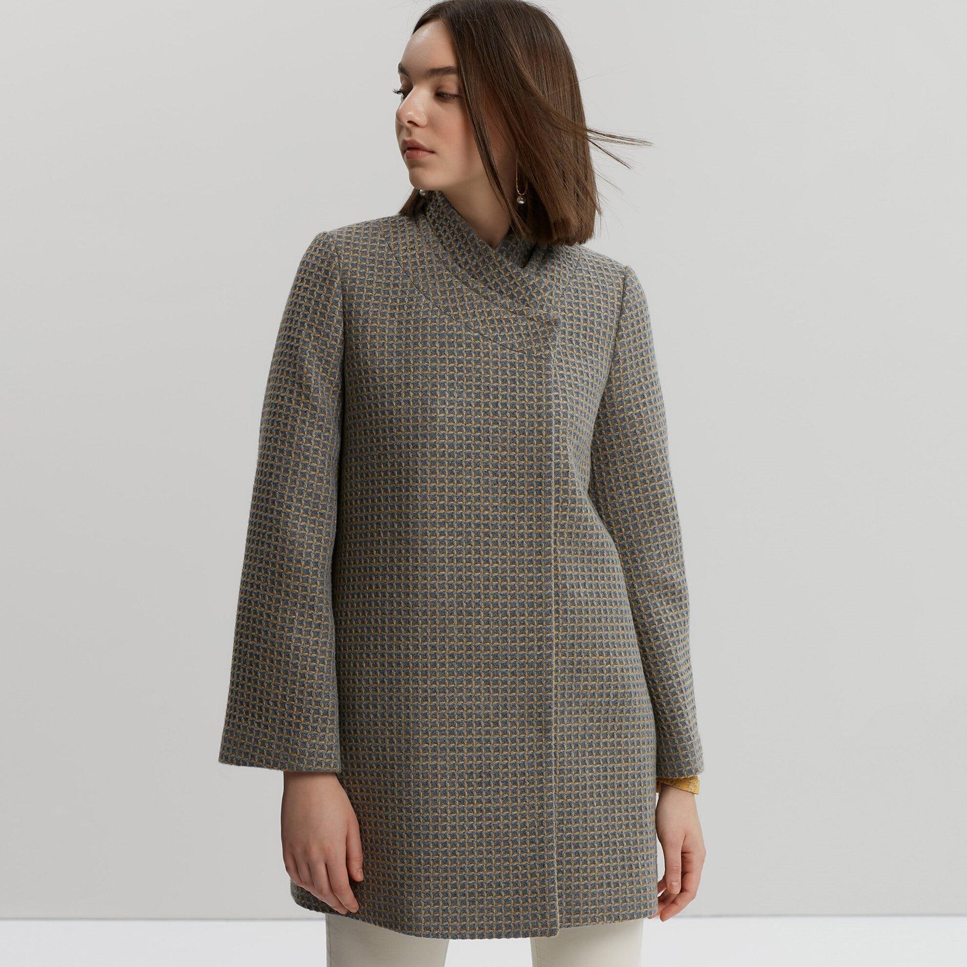 Damen Mantel mit Seitenstreifen