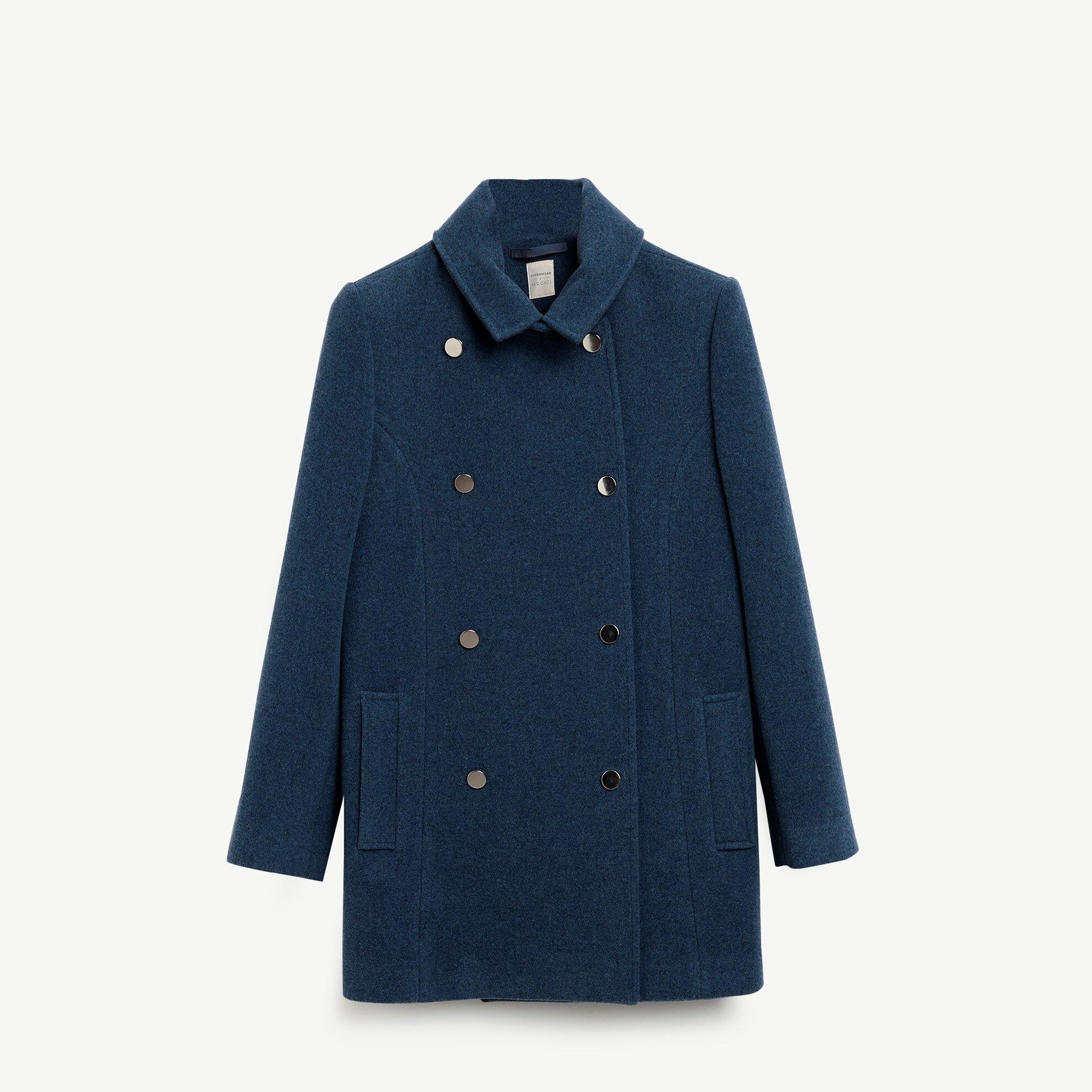 Damen Mantel Zweireiher