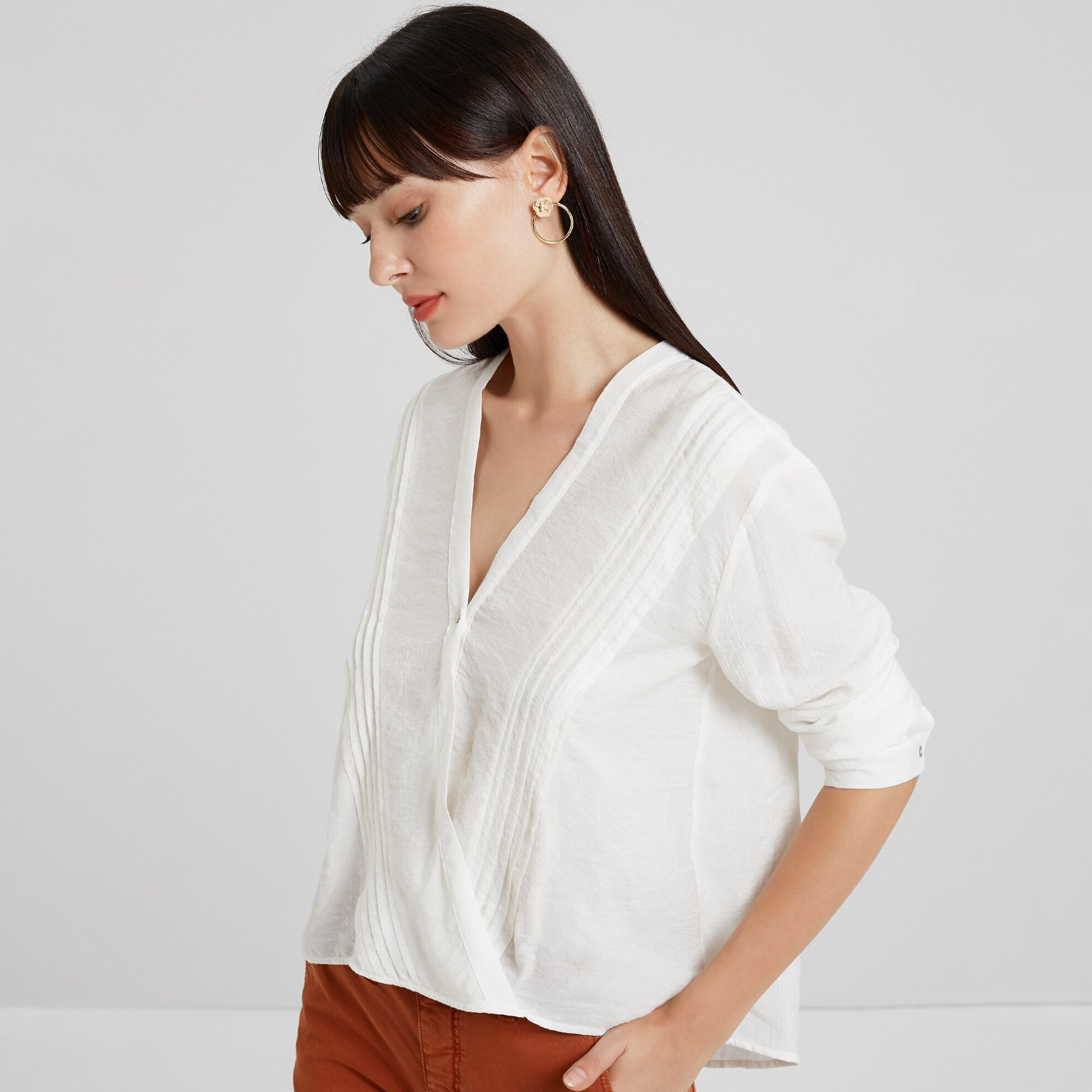 Button Detialed Shirt