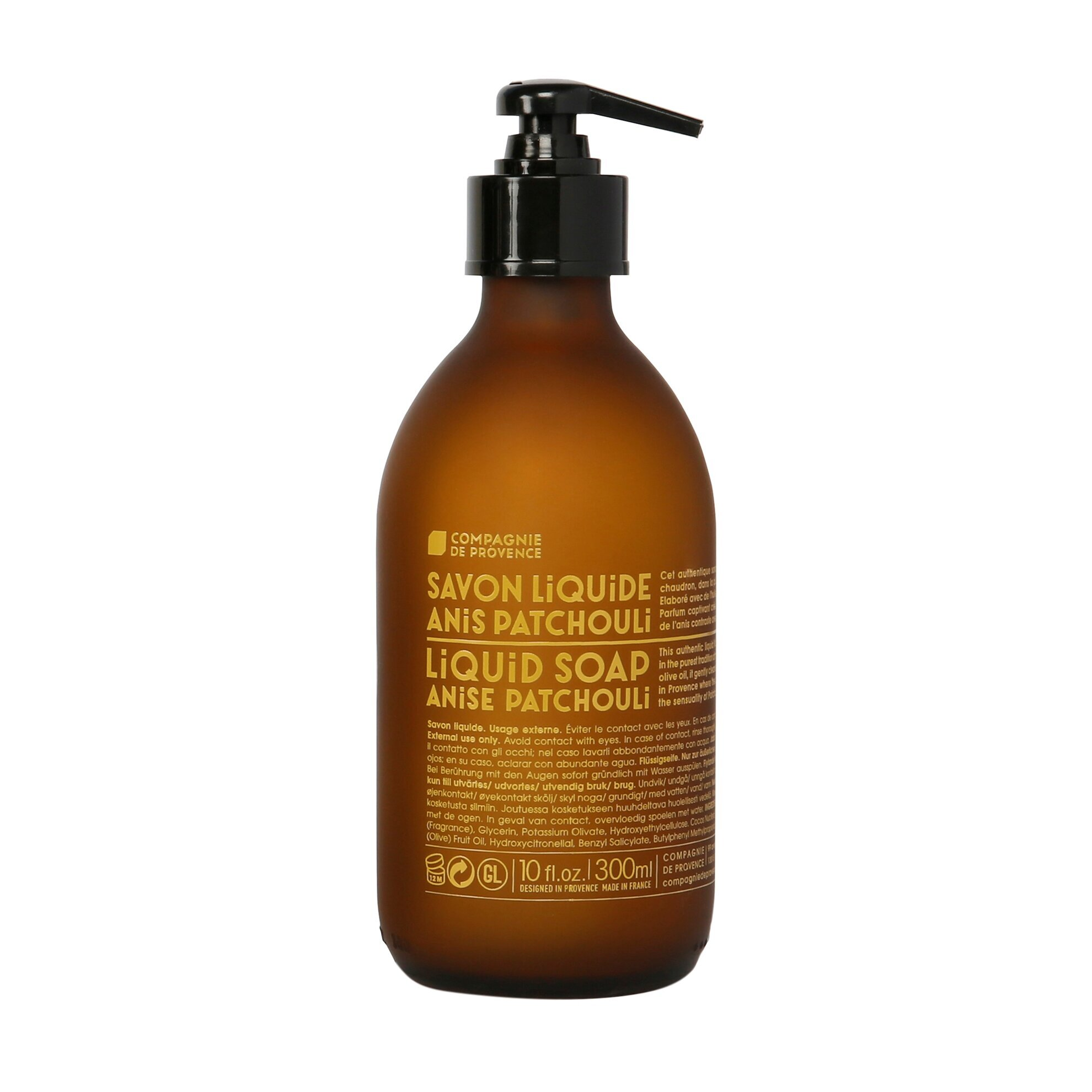 Liquid Marseille Soap Anise Patchouli - 300 ml