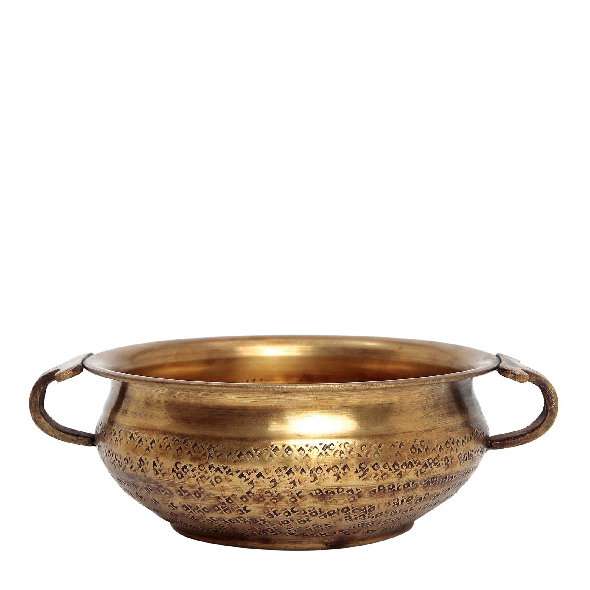 Dekoratif Obje - Çanak (15x6cm)