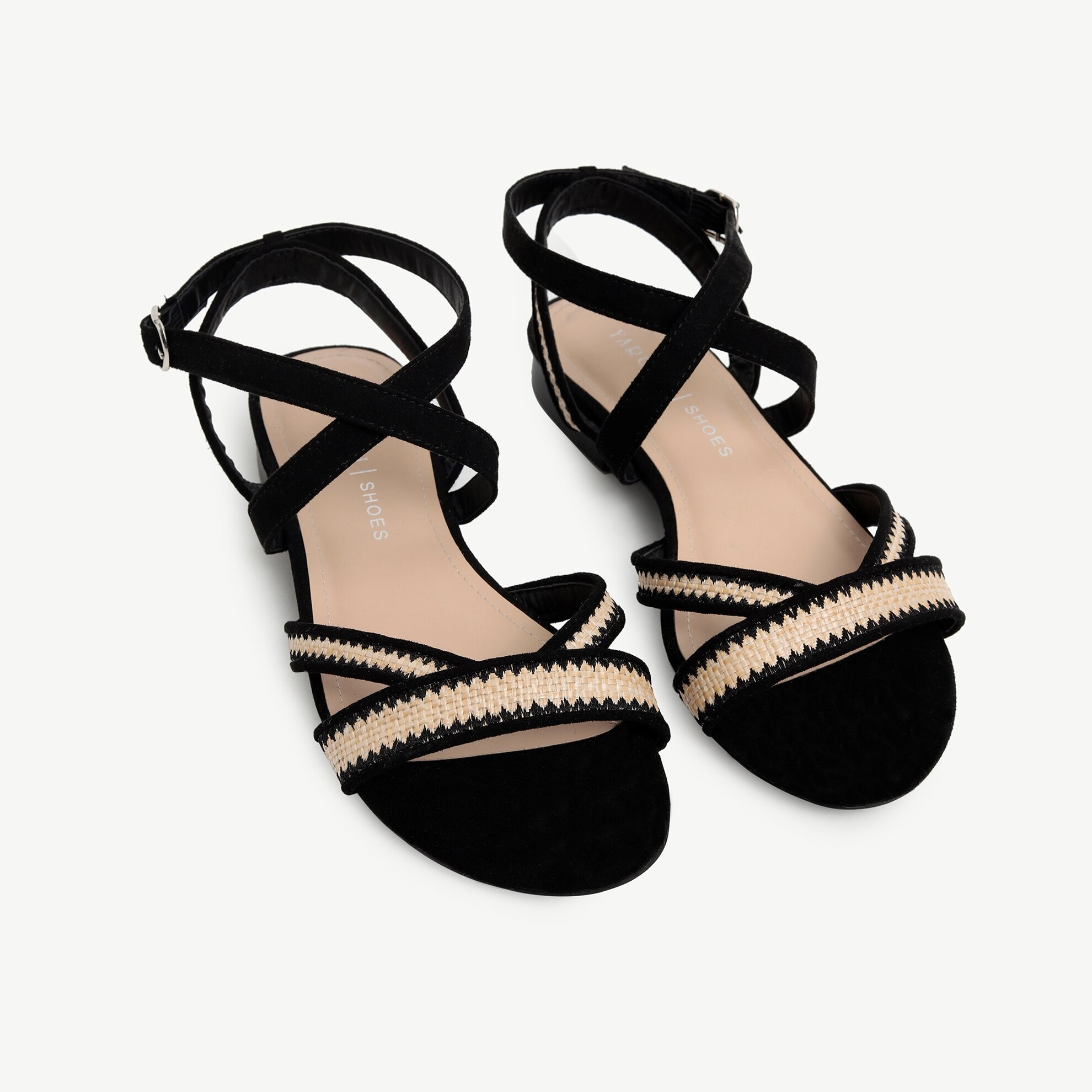 Hasır Detaylı Sandalet