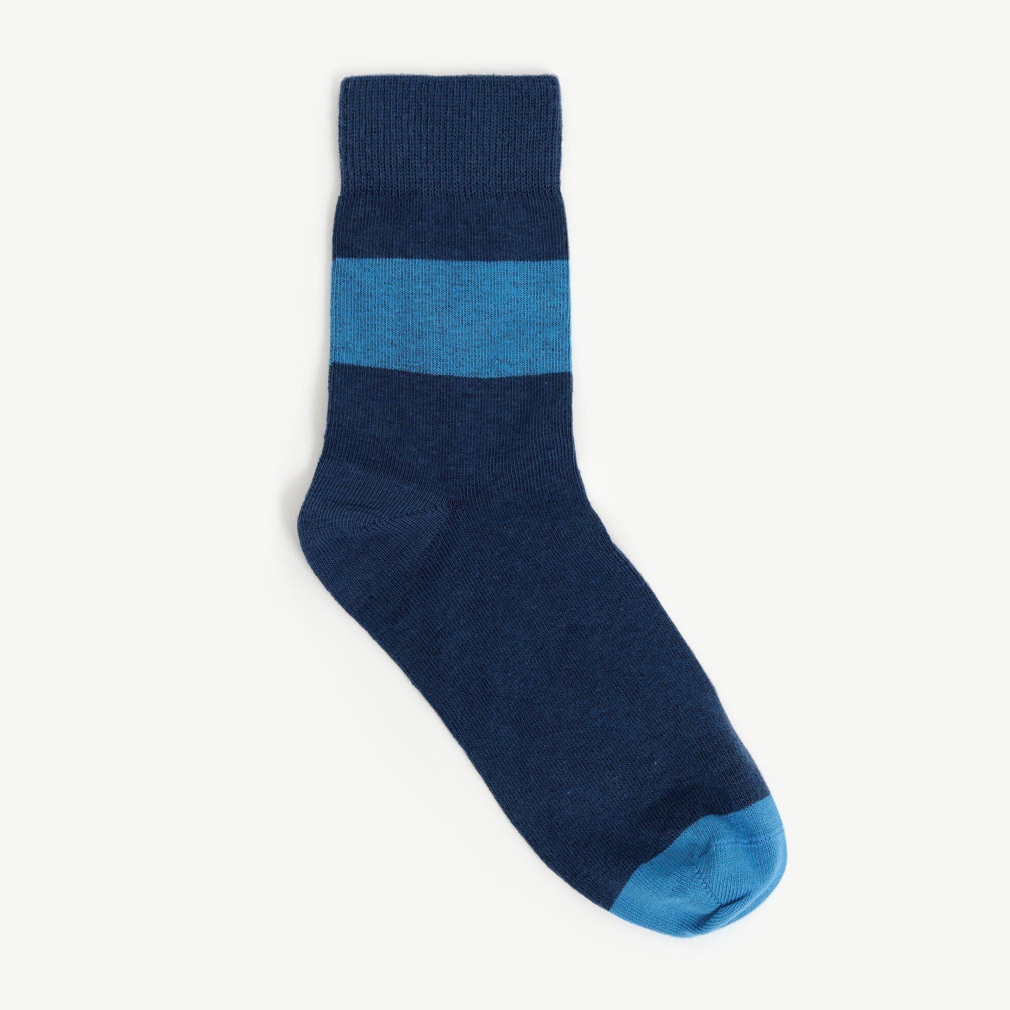 Kontrast Detaylı Çorap