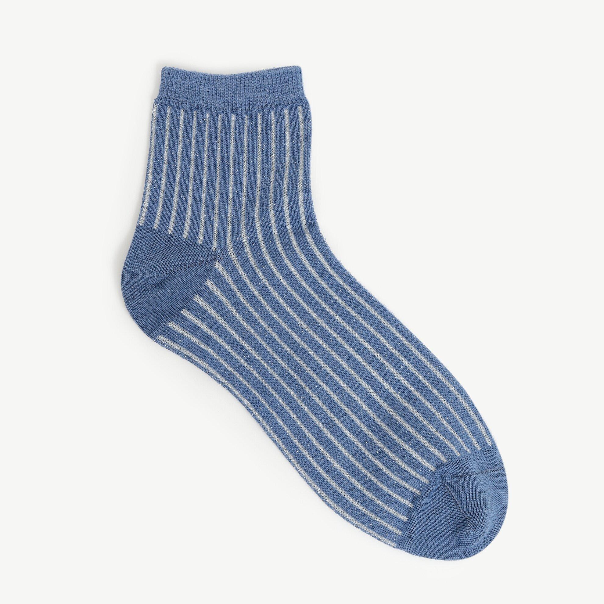 Çizgi Detaylı Çorap